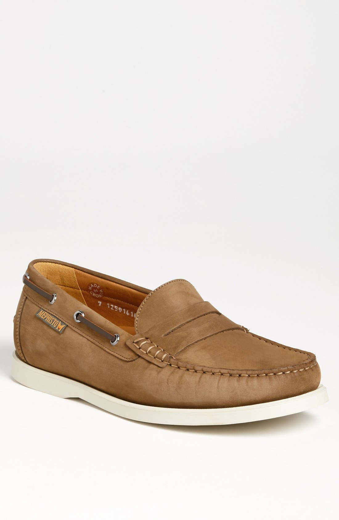 Alternate Image 1 Selected - Mephisto 'Captain' Boat Shoe