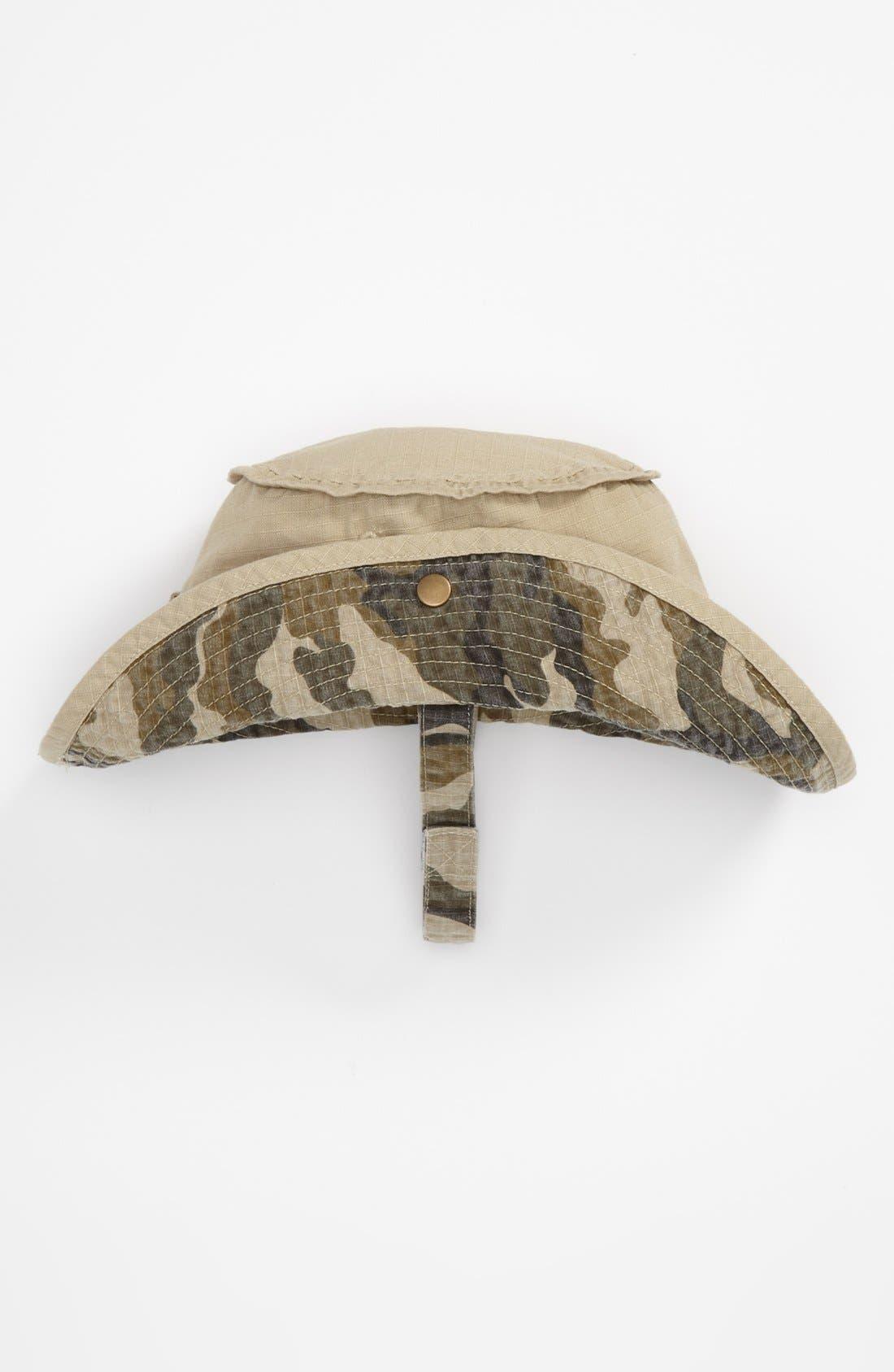 Alternate Image 1 Selected - Nolan Glove Twill Safari Hat (Toddler)