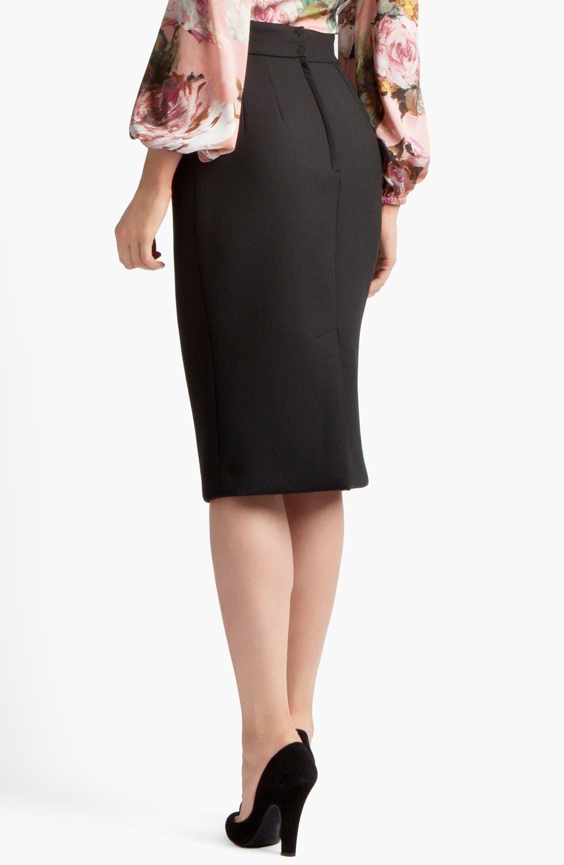 Alternate Image 2  - Dolce&Gabbana Pencil Skirt