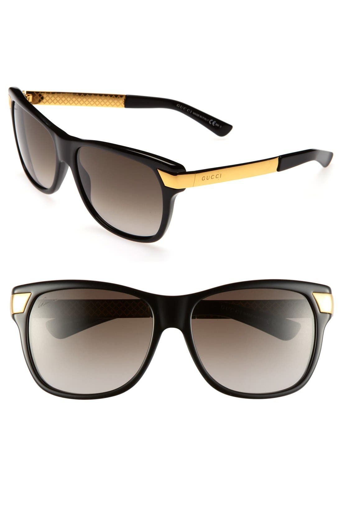 Alternate Image 1 Selected - Gucci 57mm Sunglasses