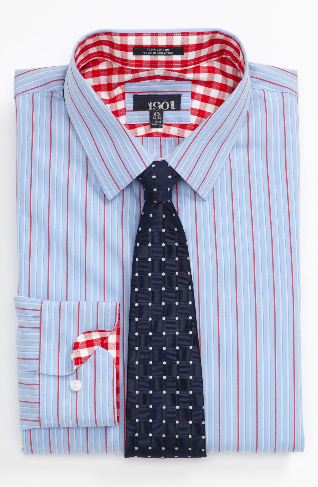 Alternate Image 3  - 1901 Trim Fit Dress Shirt