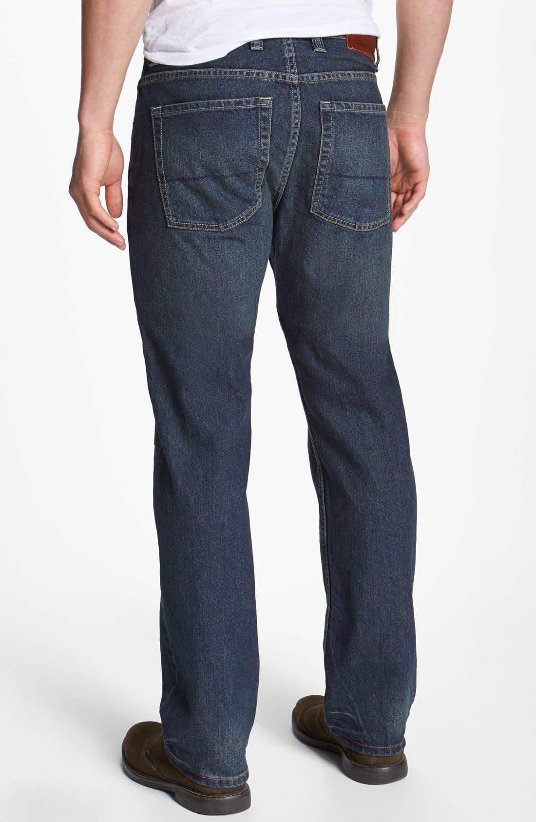 Alternate Image 2  - Tommy Bahama Denim 'Steve Standard Fit' Jeans (Vintage)