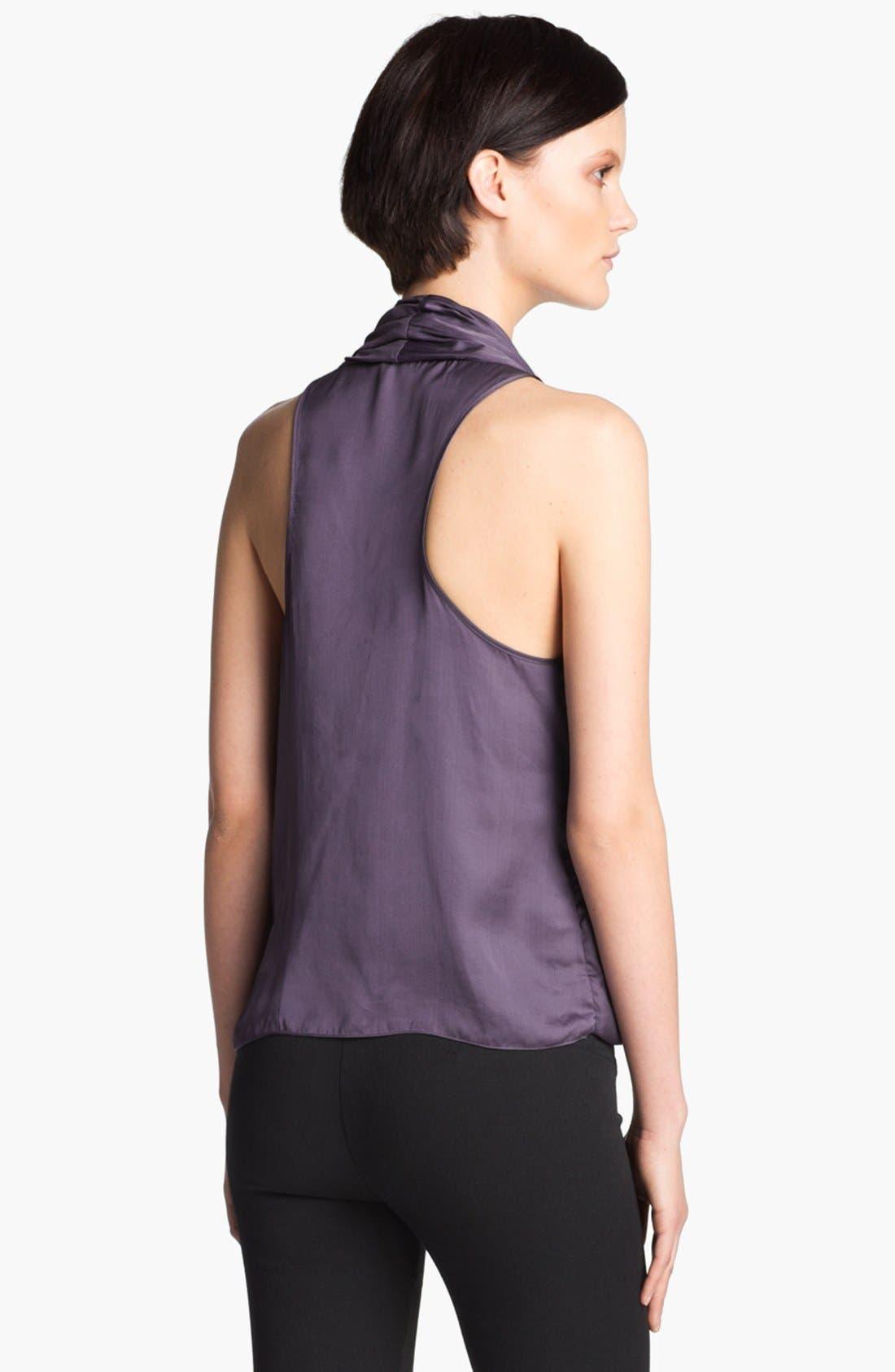 Alternate Image 3  - HELMUT Helmut Lang 'Glassy' Drape Front Blouse