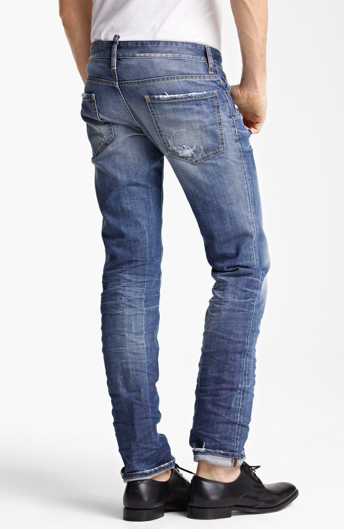 Alternate Image 2  - Dsquared2 Slim Fit Jeans