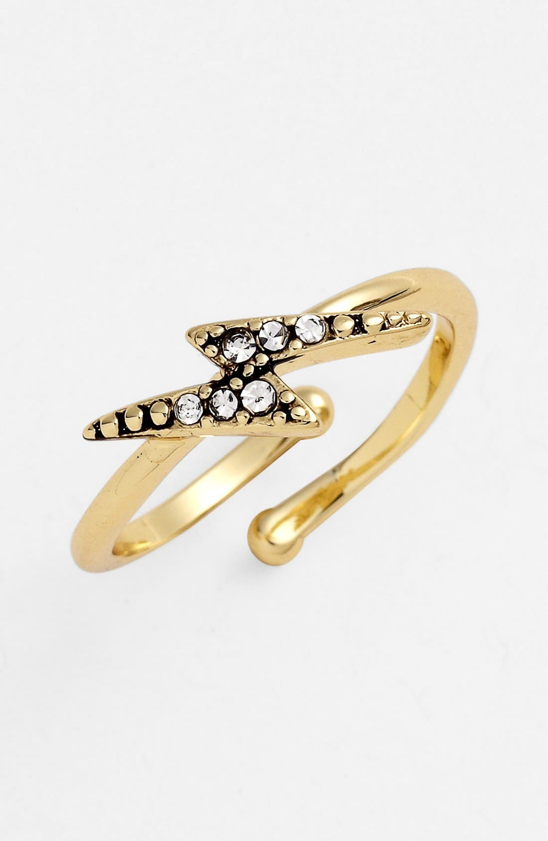 Main Image - Ariella Collection Lightning Bolt Ring (Nordstrom Exclusive)
