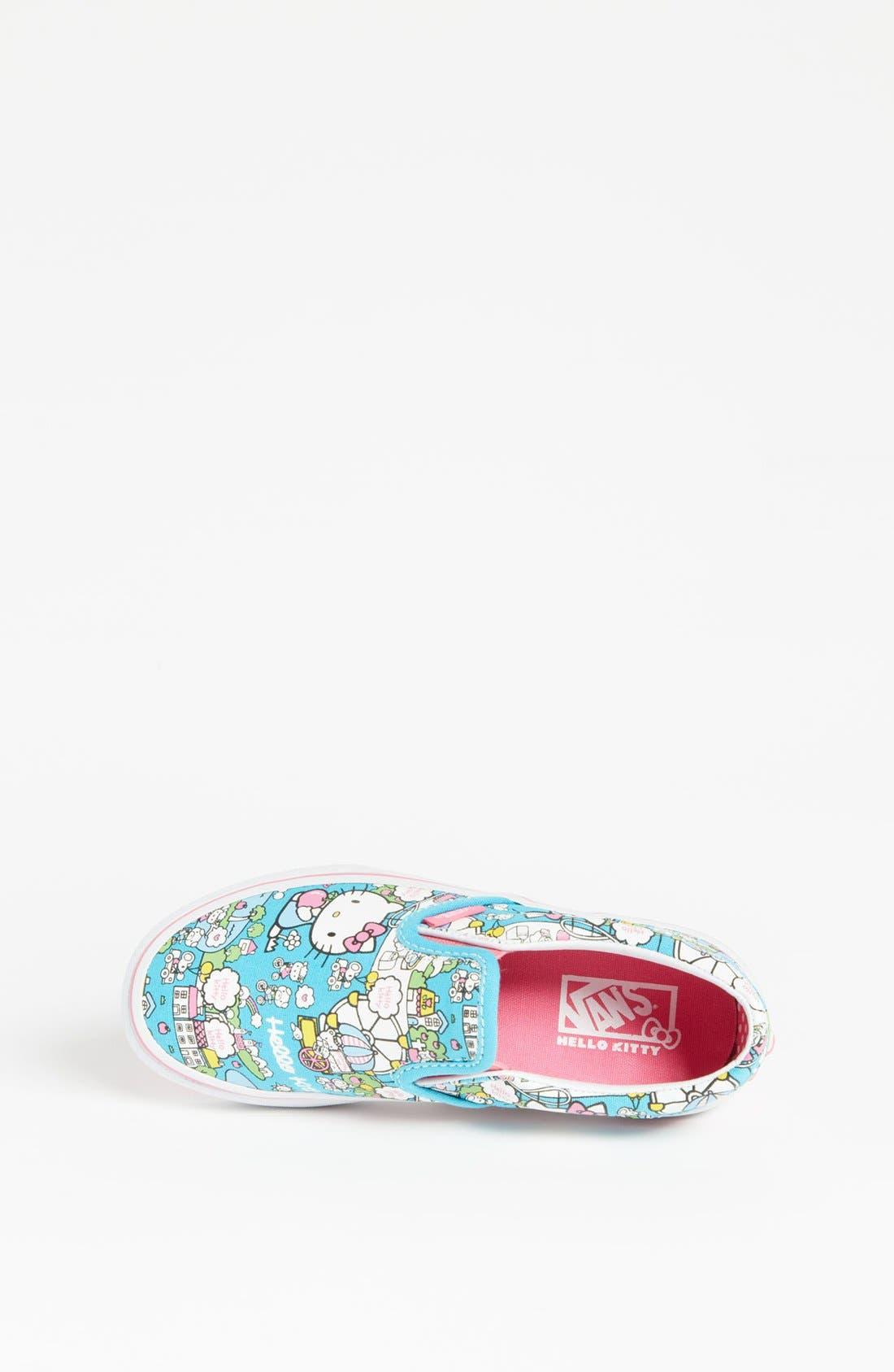 Alternate Image 3  - Vans 'Hello Kitty®' Classic Slip-On (Toddler, Little Kid & Big Kid)