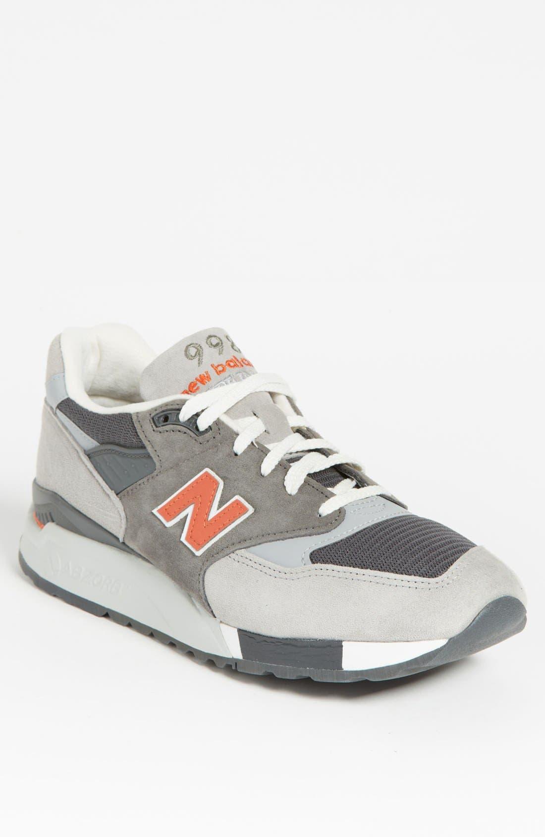 Alternate Image 1 Selected - New Balance '998' Sneaker (Men)