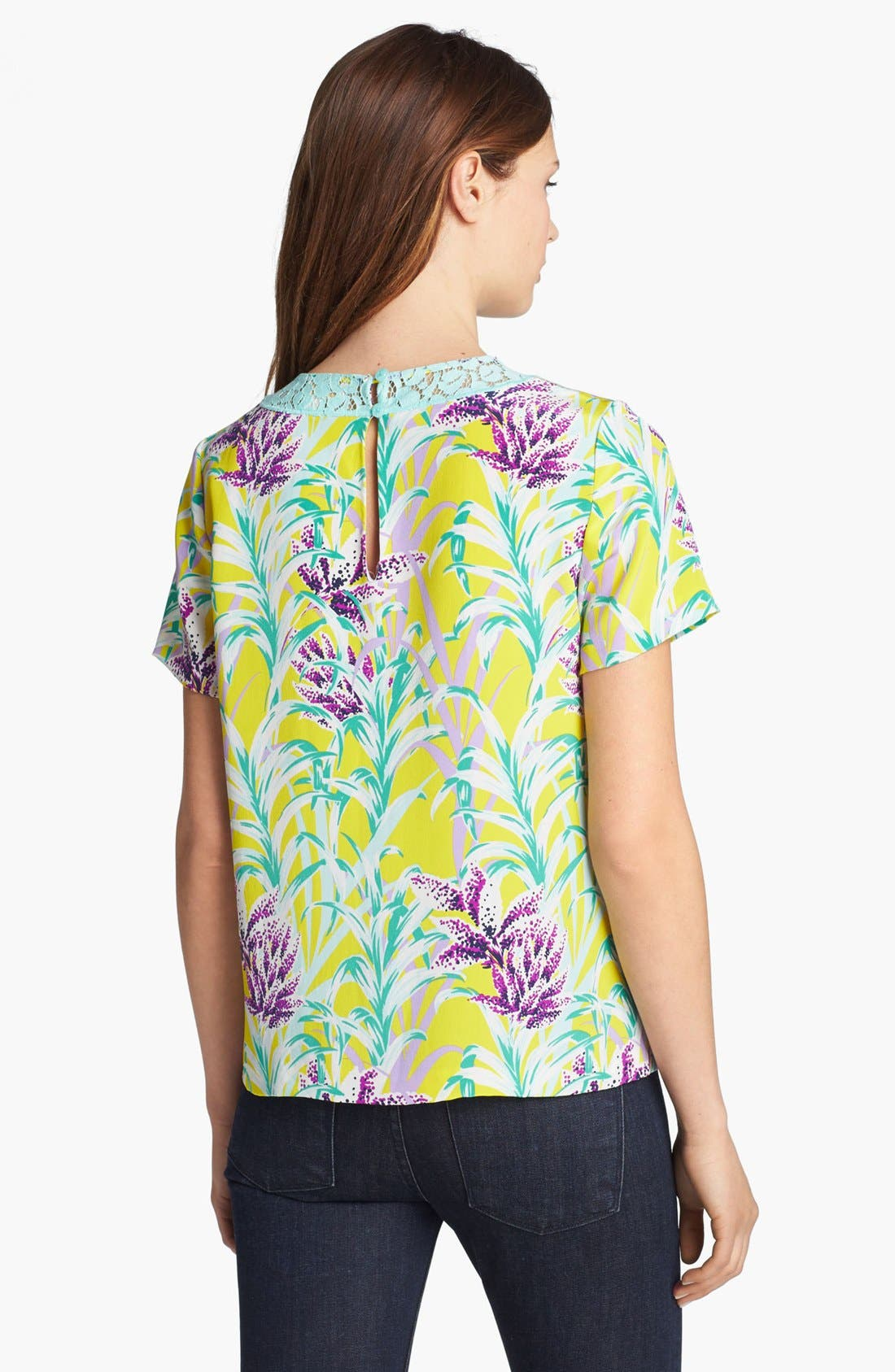 Alternate Image 2  - kate spade new york 'roslyn' silk top