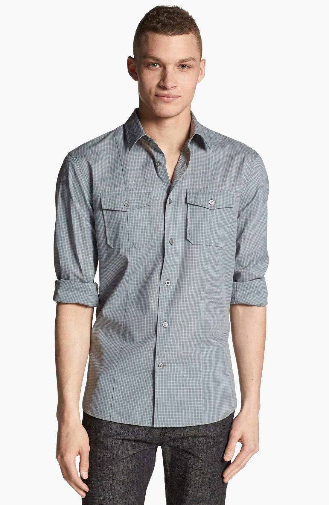 Alternate Image 1 Selected - John Varvatos Star USA Luxe Fit Sport Shirt