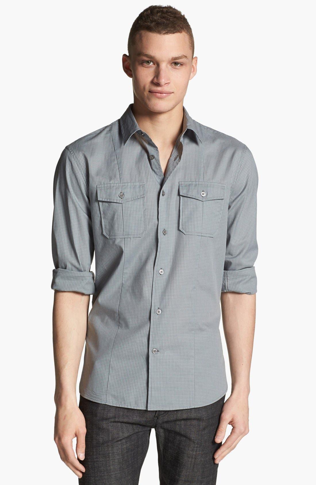 Main Image - John Varvatos Star USA Luxe Fit Sport Shirt