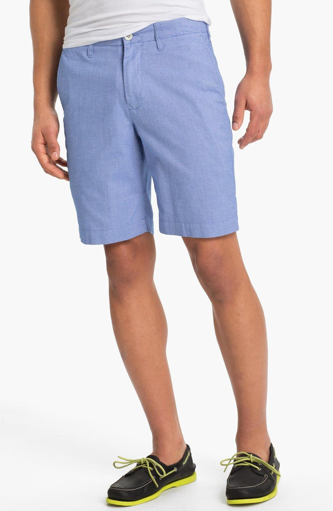Main Image - Bonobos Flat Front Shorts