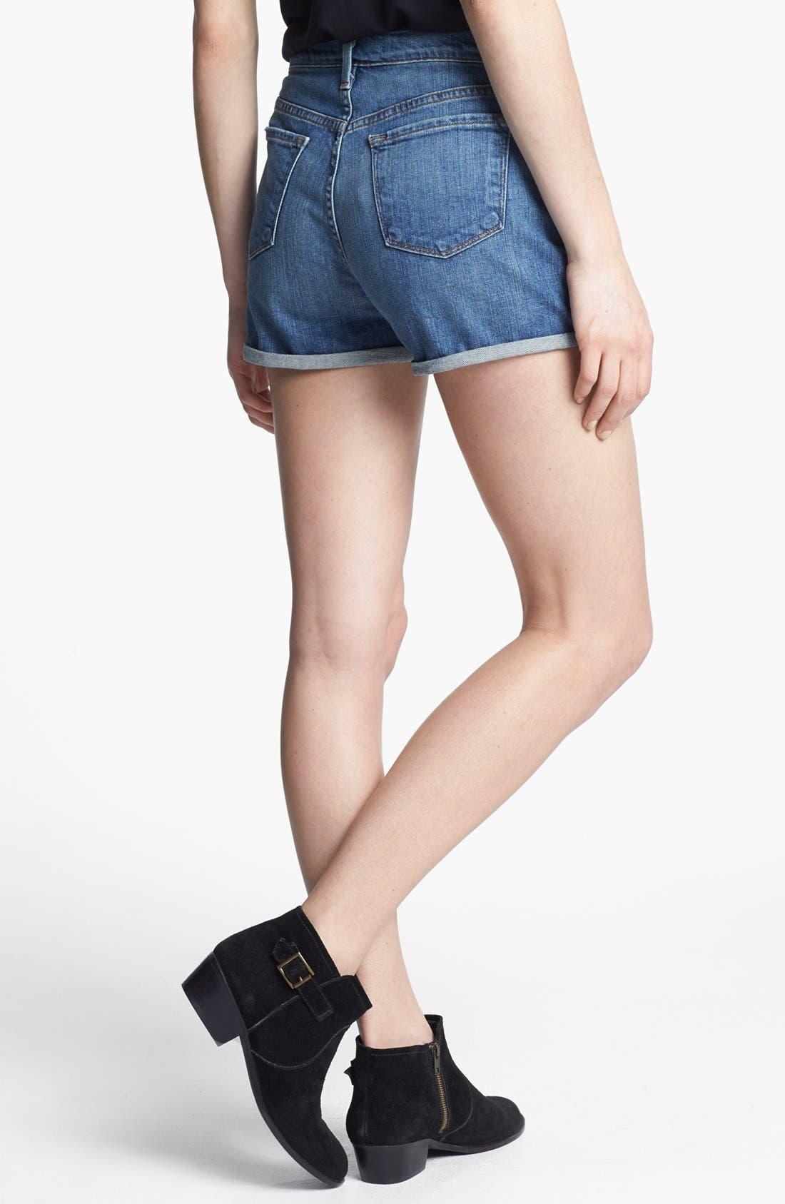 Alternate Image 2  - J Brand High Waist Denim Shorts (Ojai)