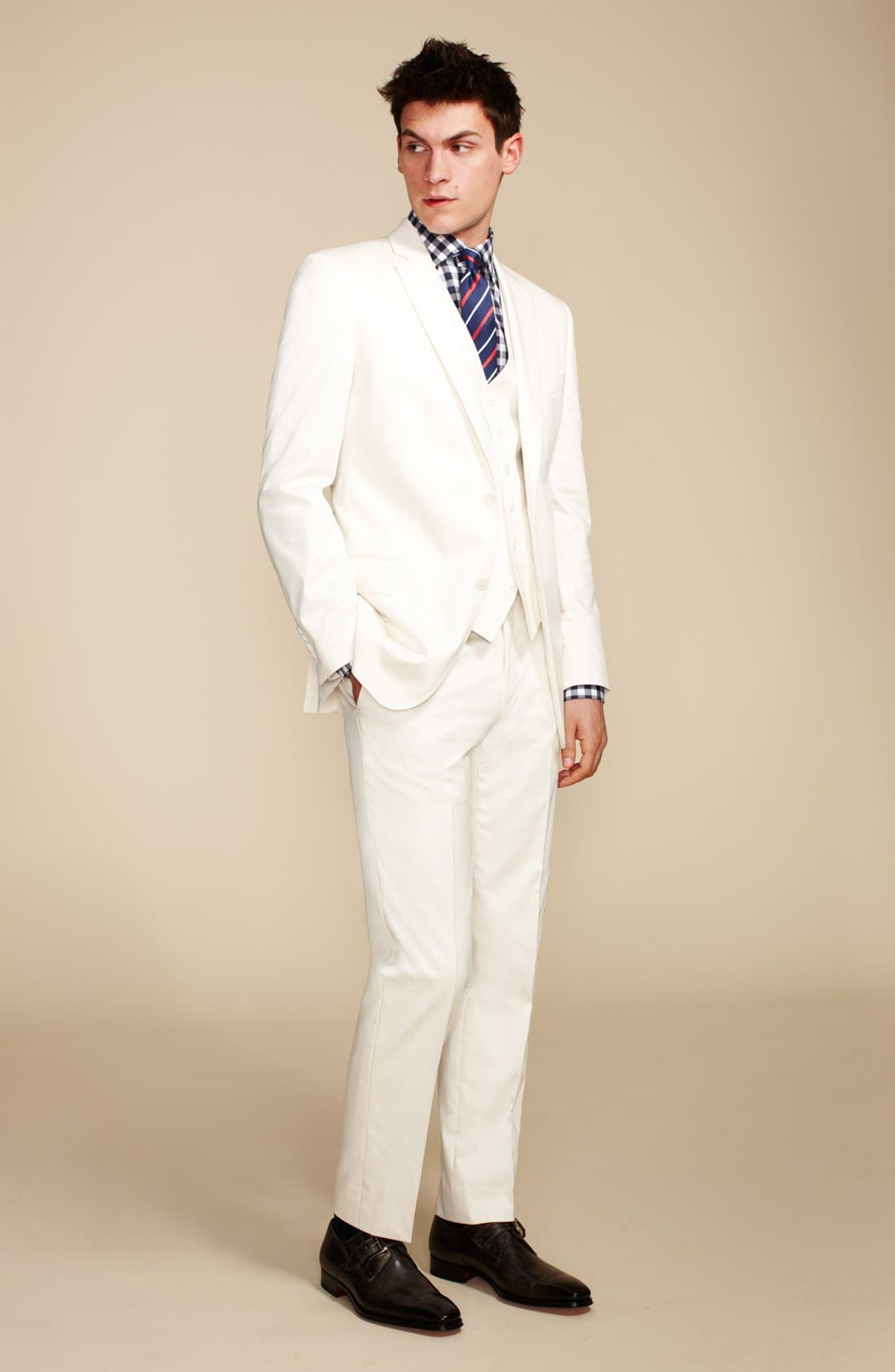 Alternate Image 4  - John Varvatos Star USA 'Gibson' Vest