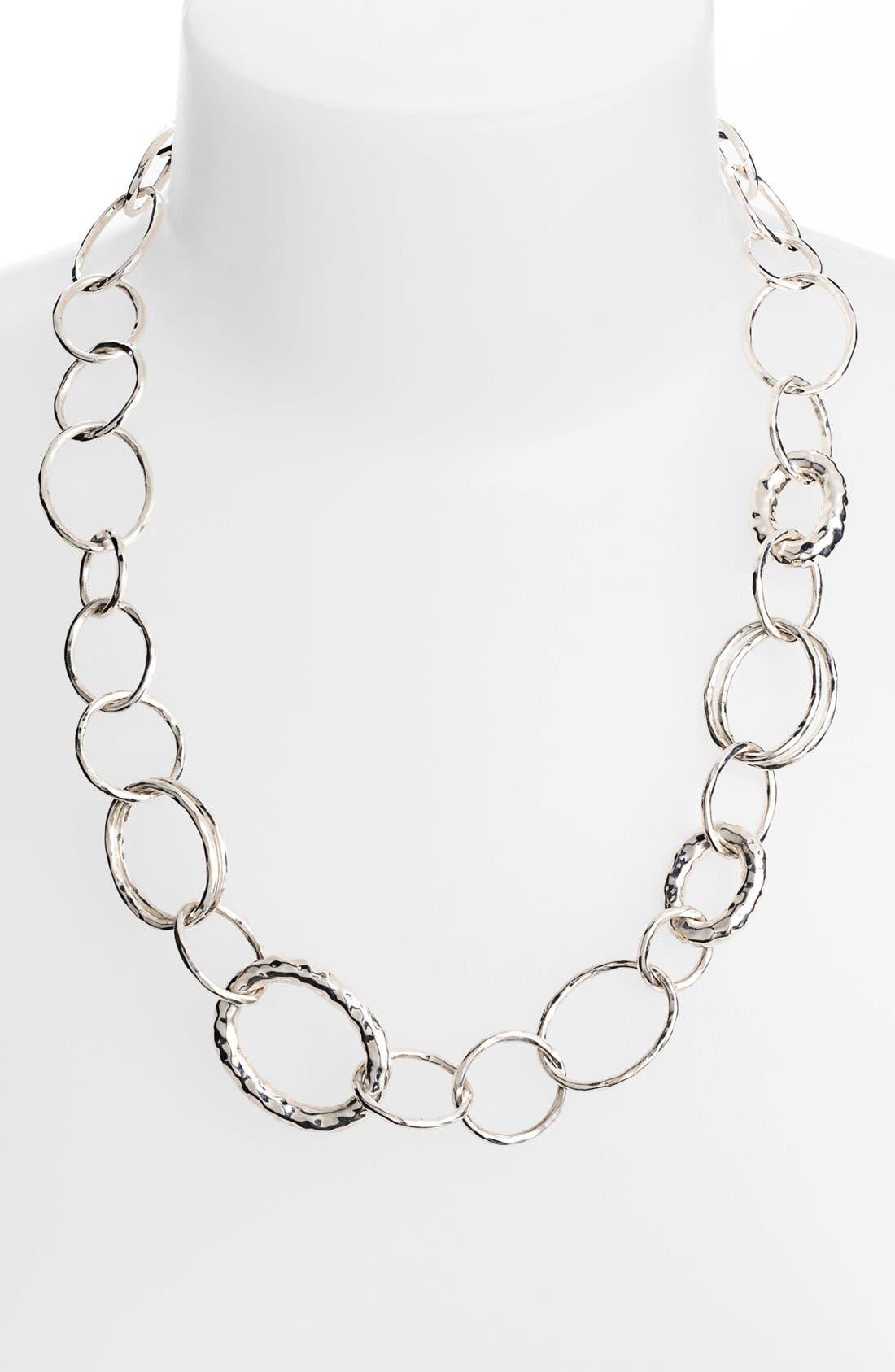 Alternate Image 2  - Ippolita 'Glamazon - Bastille' Sterling Silver Link Necklace