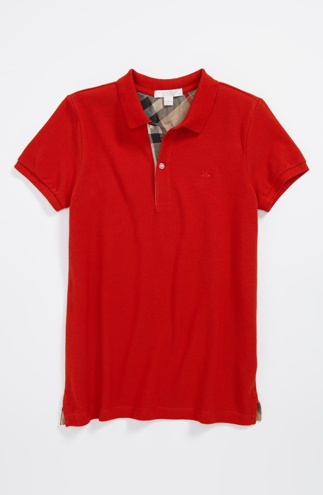 Alternate Image 1 Selected - Burberry Cotton Polo (Little Boys & Big Boys)