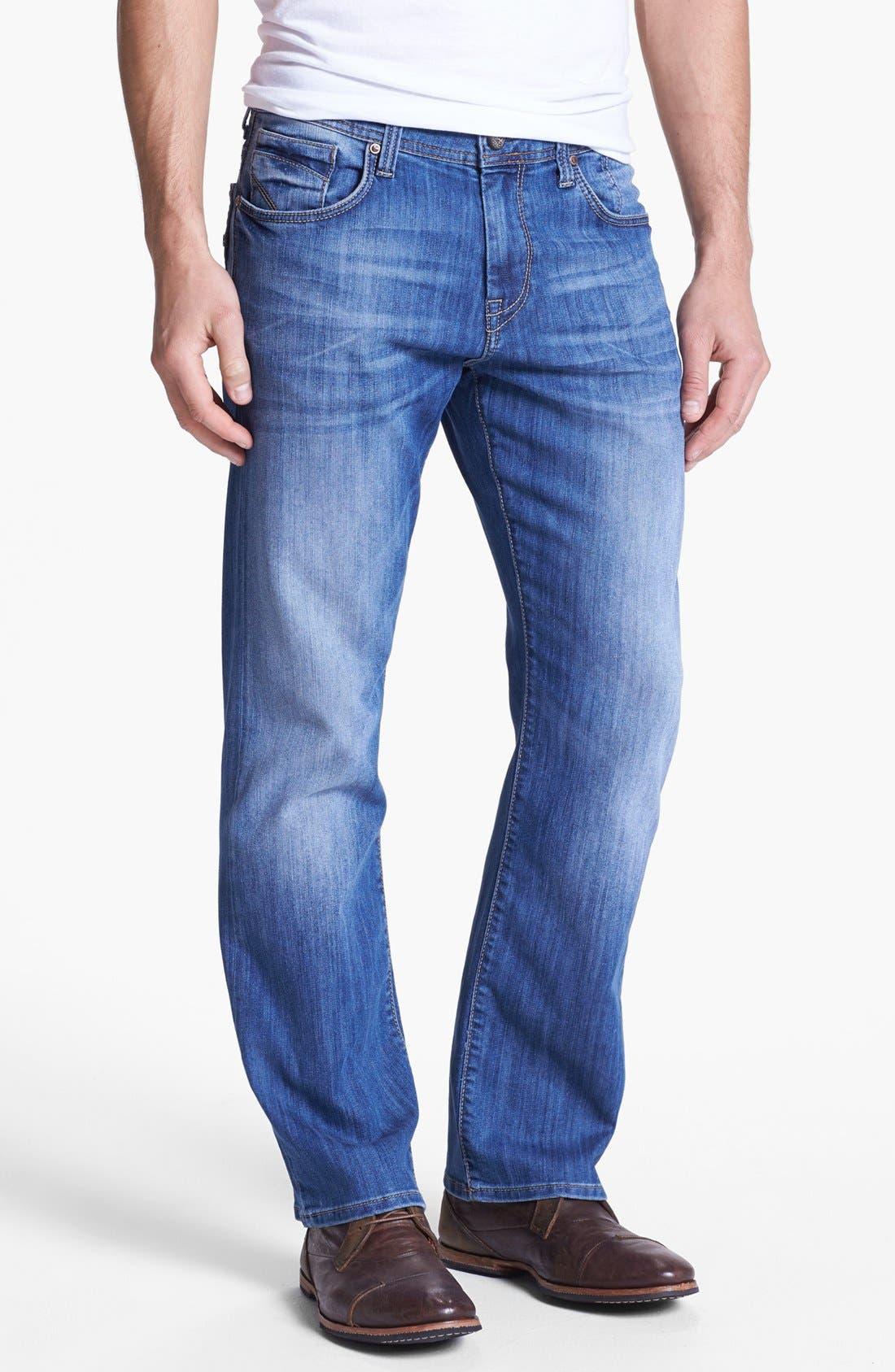 Alternate Image 2  - Mavi Jeans 'Matt' Relaxed Leg Jeans (Light Cooper)