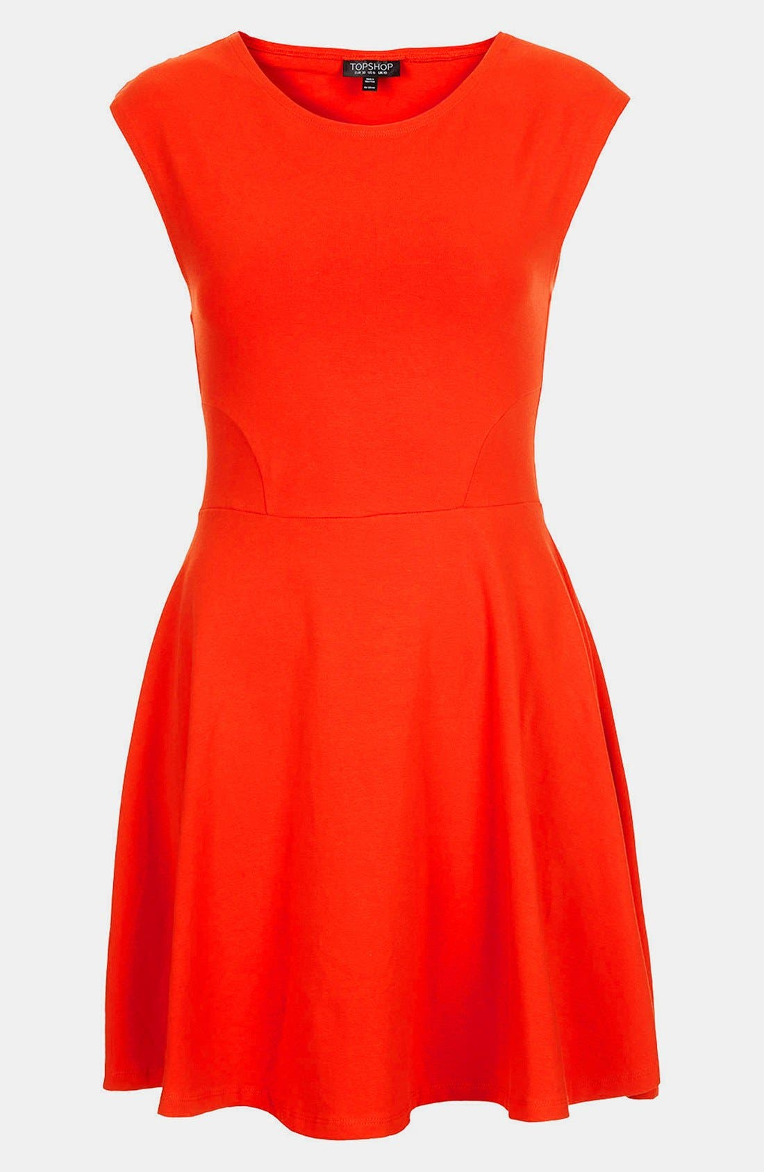 Alternate Image 4  - Topshop Skater Dress
