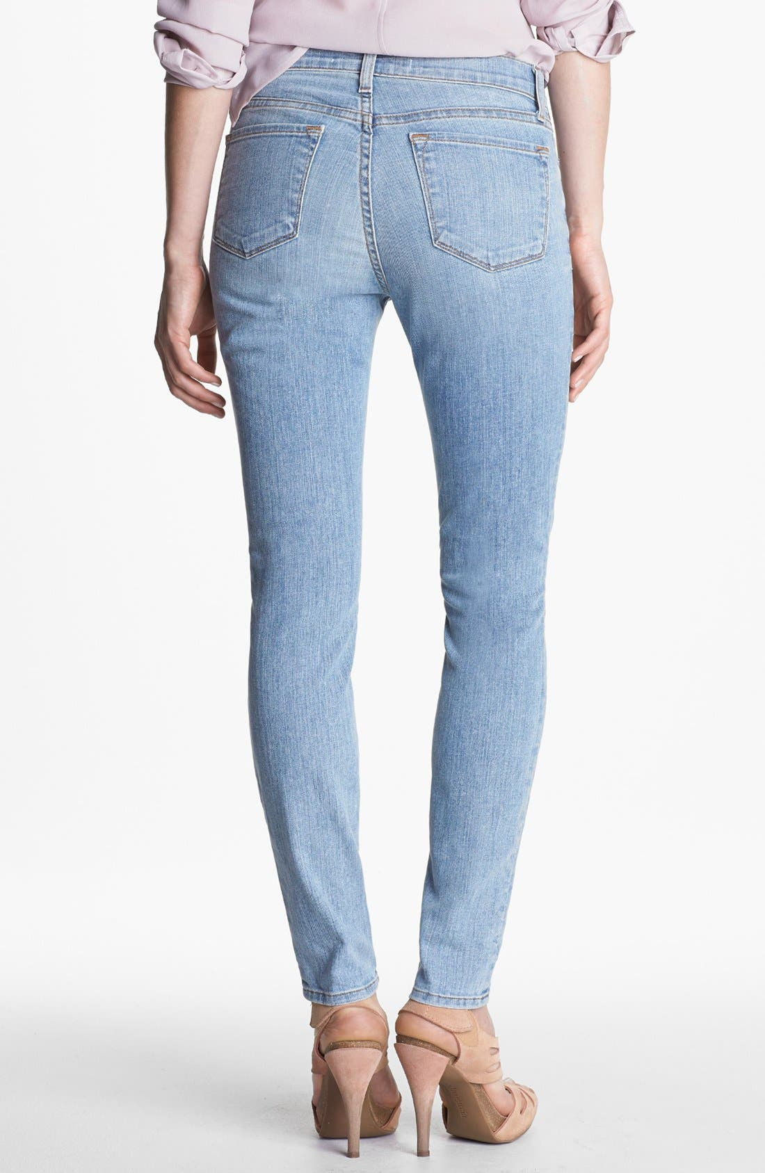 Alternate Image 2  - J Brand '811' Mid-Rise Skinny Jeans (Orion)