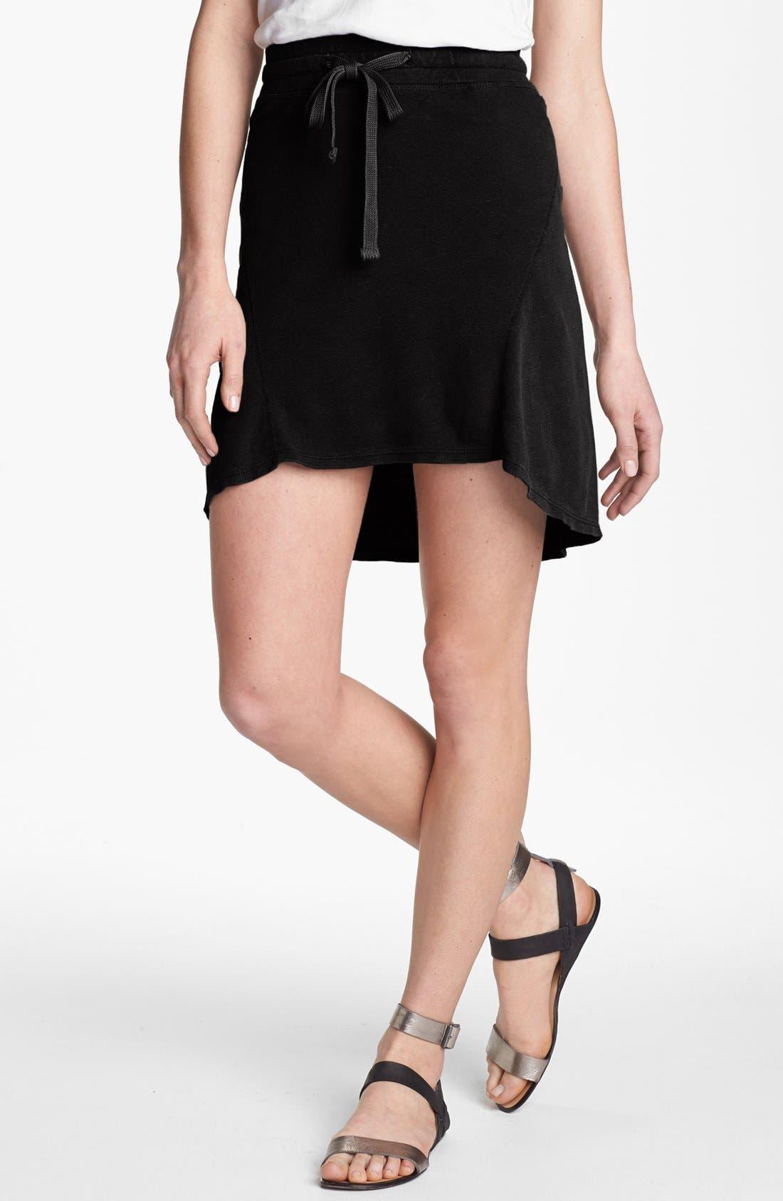 Main Image - James Perse Seamed Fleece Skirt