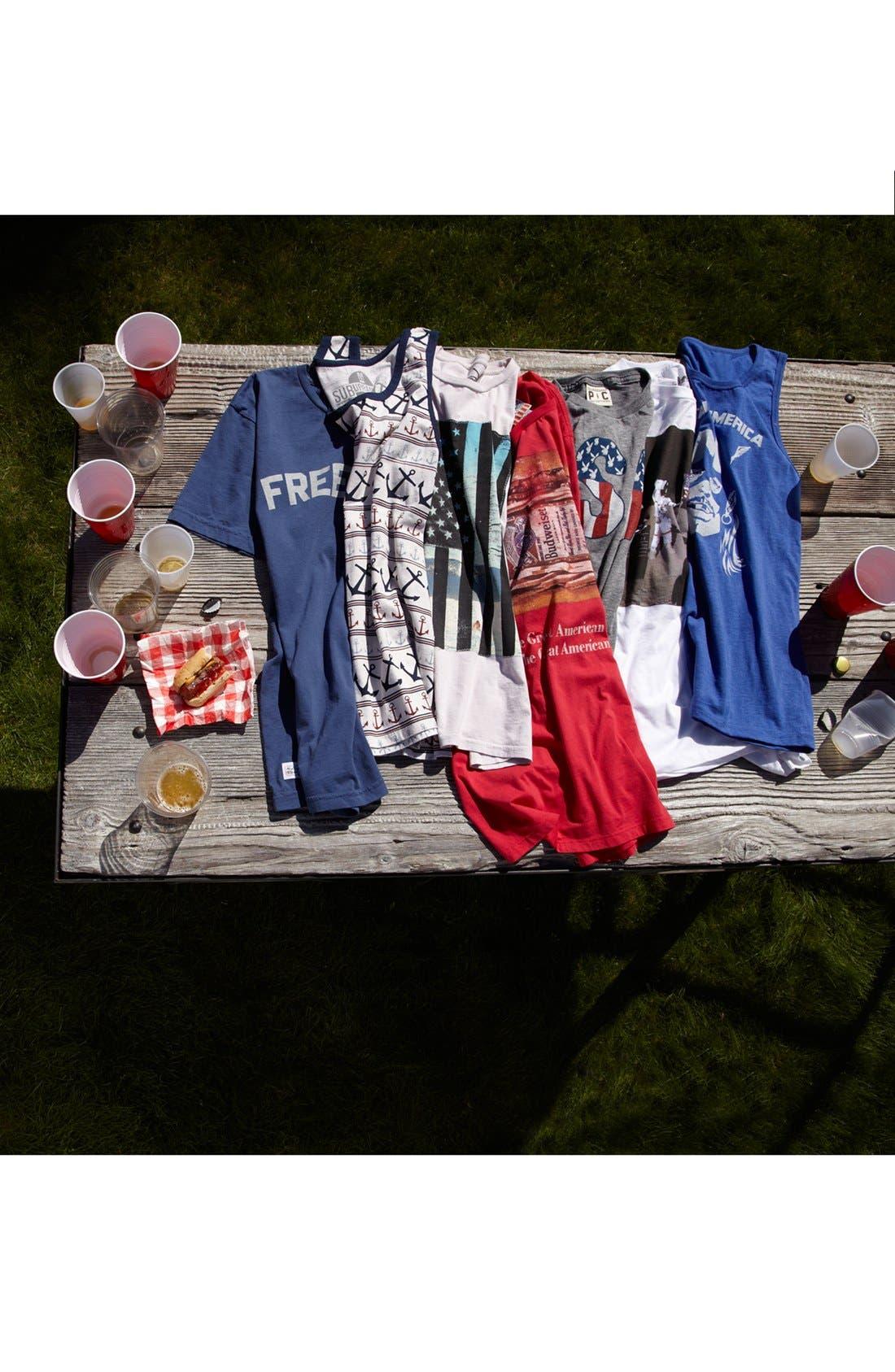 Alternate Image 4  - Junk Food 'Budweiser Hero' T-Shirt