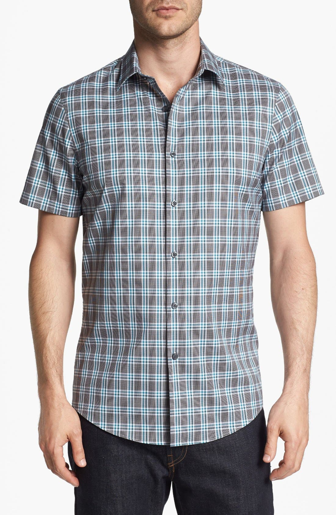 Main Image - Calibrate Short Sleeve Sport Shirt