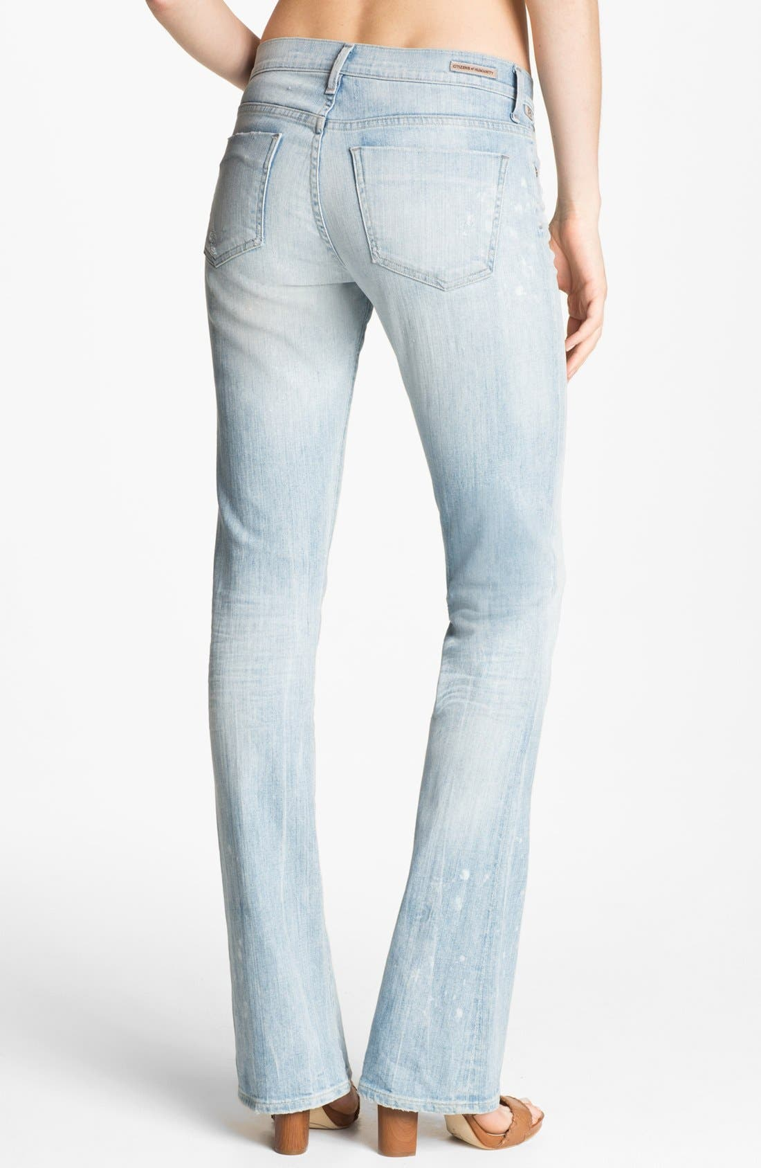 Alternate Image 2  - Citizens of Humanity 'Emanuelle' Slim Bootcut Jeans (Sorbet)
