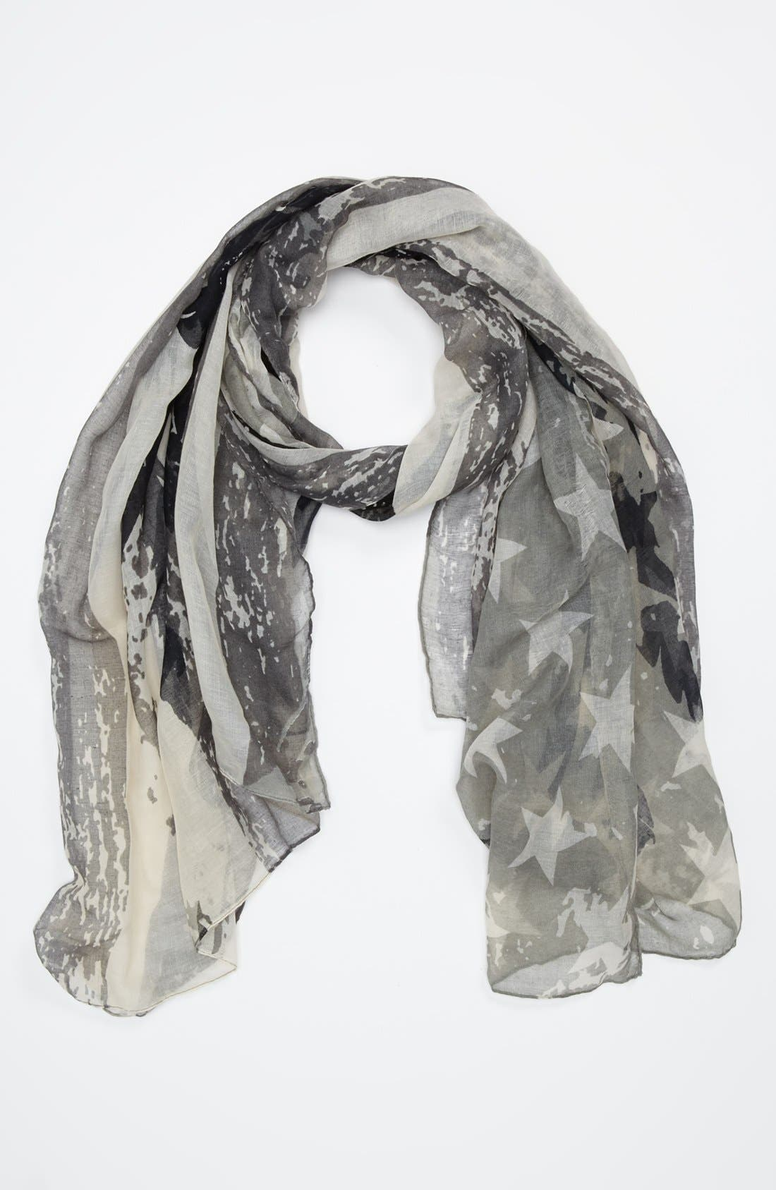 Alternate Image 1 Selected - Lulu Flag Print Scarf