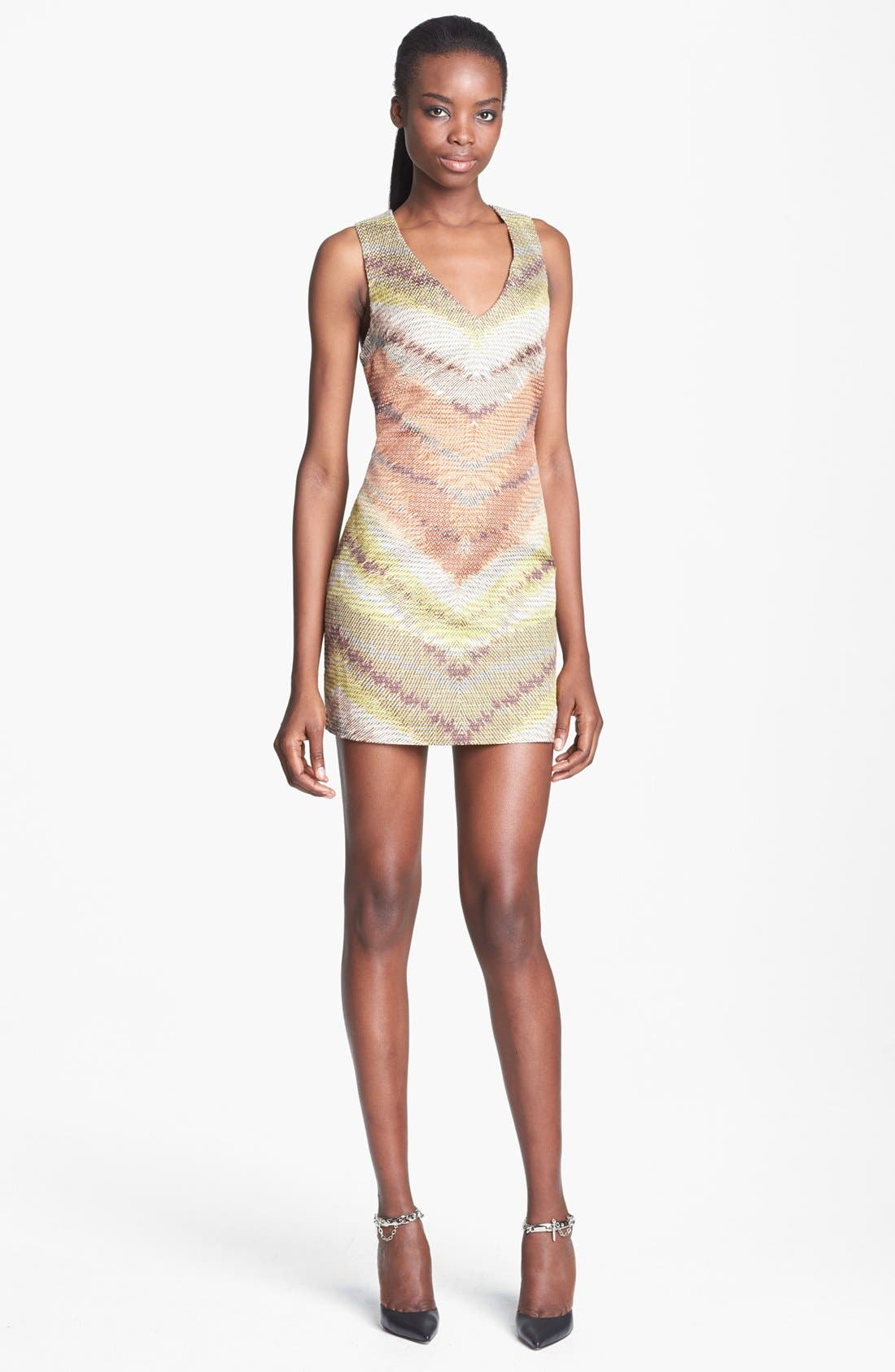Alternate Image 1 Selected - Tracy Reese Zigzag Raffia Shift Dress