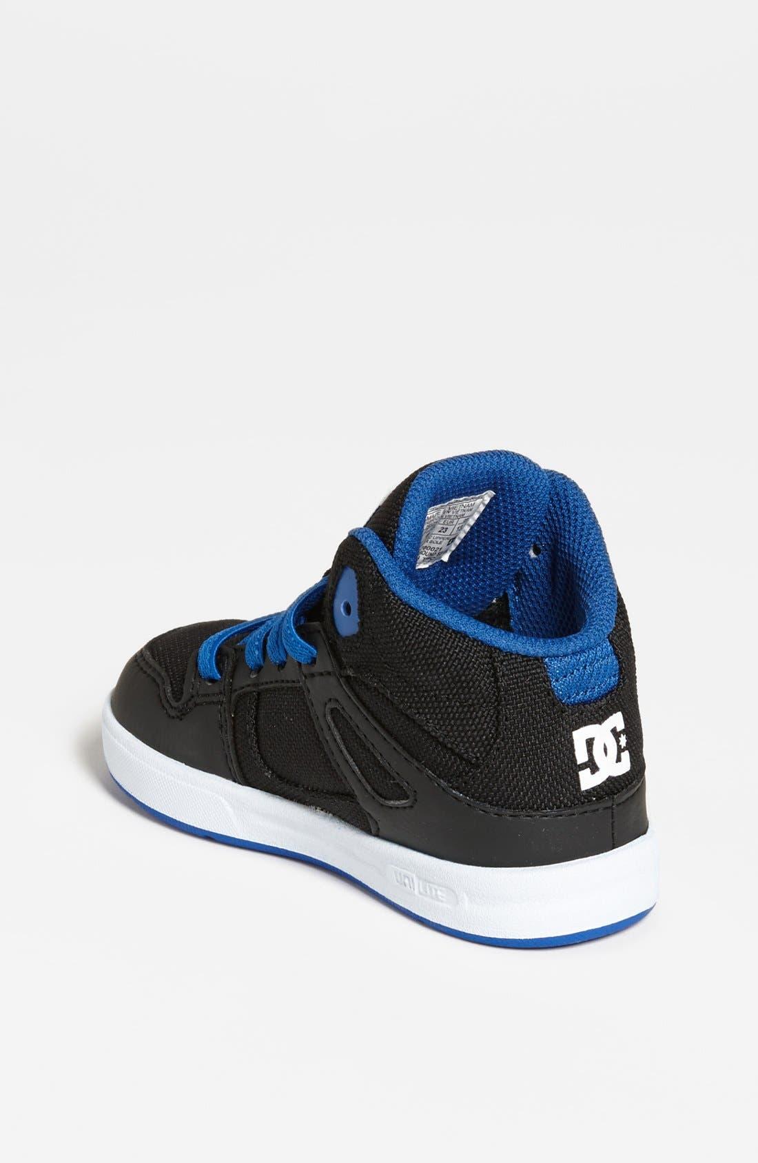 Alternate Image 2  - DC Shoes 'Rebound' Sneaker (Walker & Toddler)