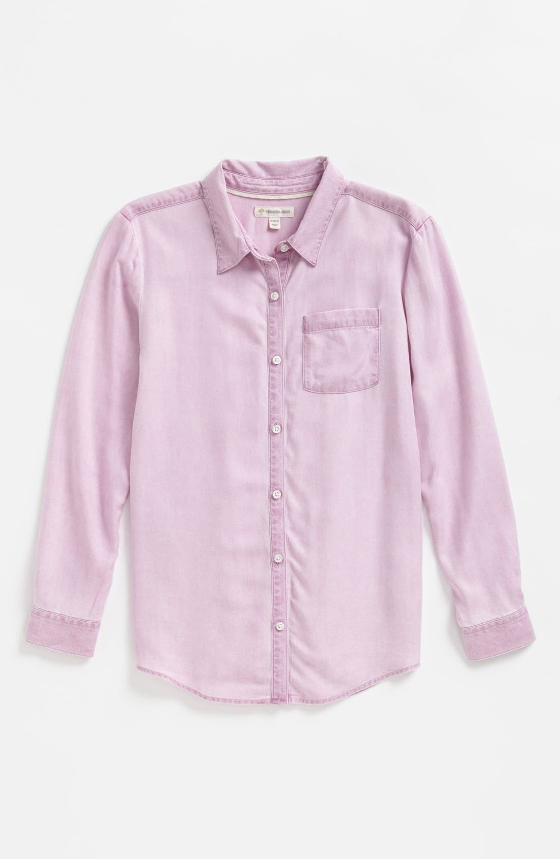 Alternate Image 1 Selected - Tucker + Tate 'Nikki' Button Down Top (Big Girls)