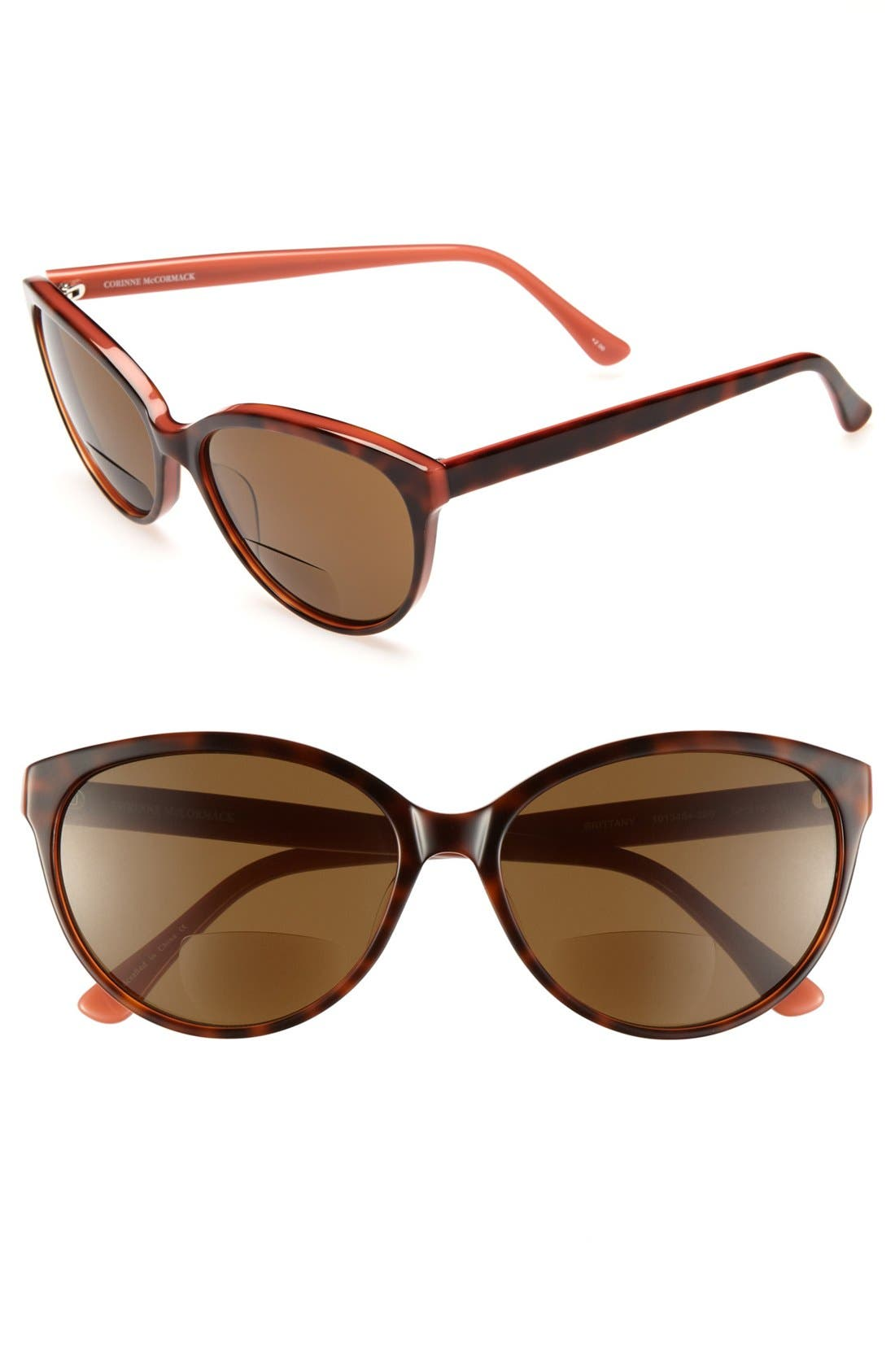 Alternate Image 1 Selected - Corinne McCormack 'Brittany' 58mm Reading Sunglasses