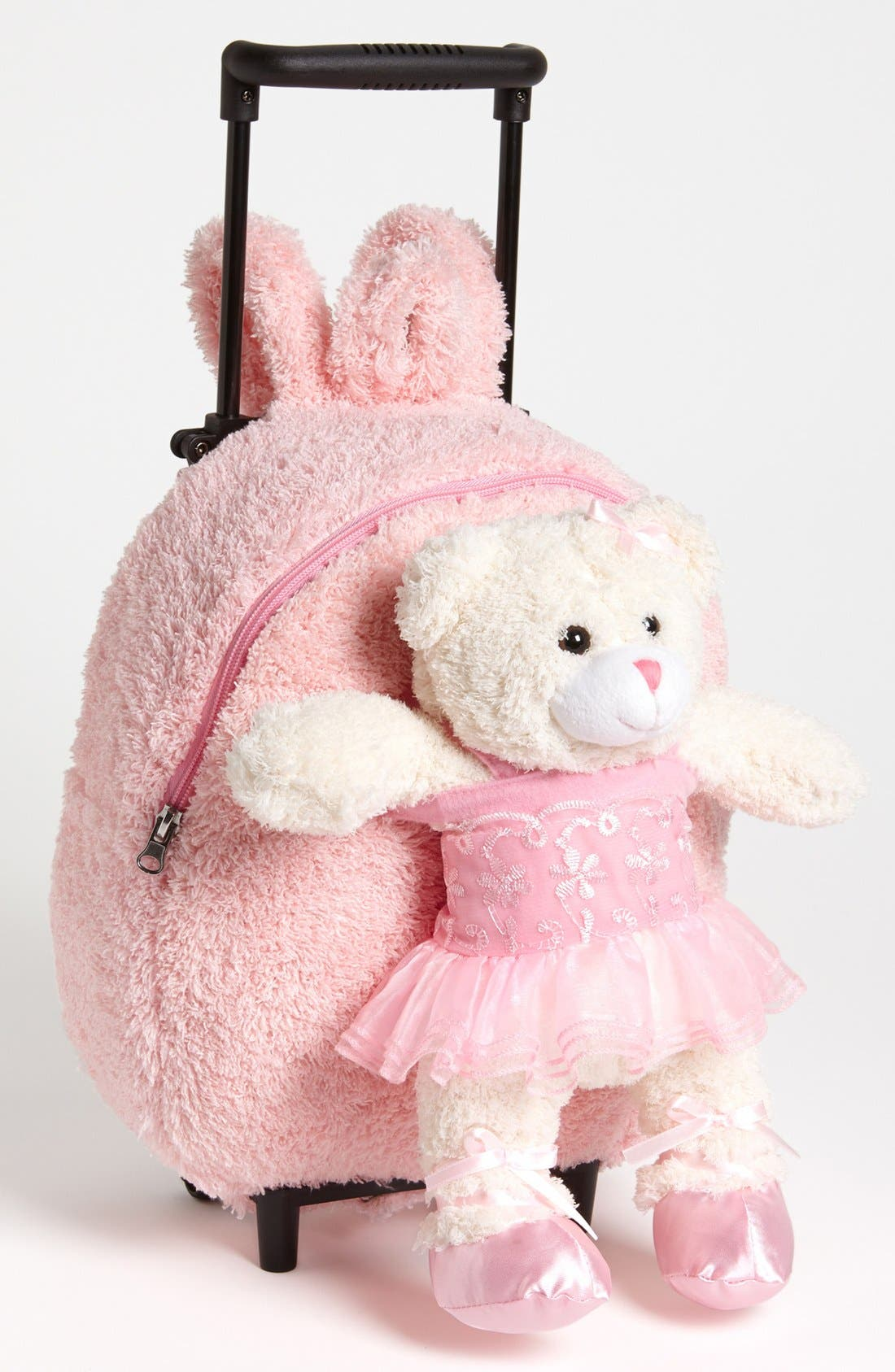 Trolley Rolling Backpack Set,                             Main thumbnail 1, color,                             Pink Ballerina