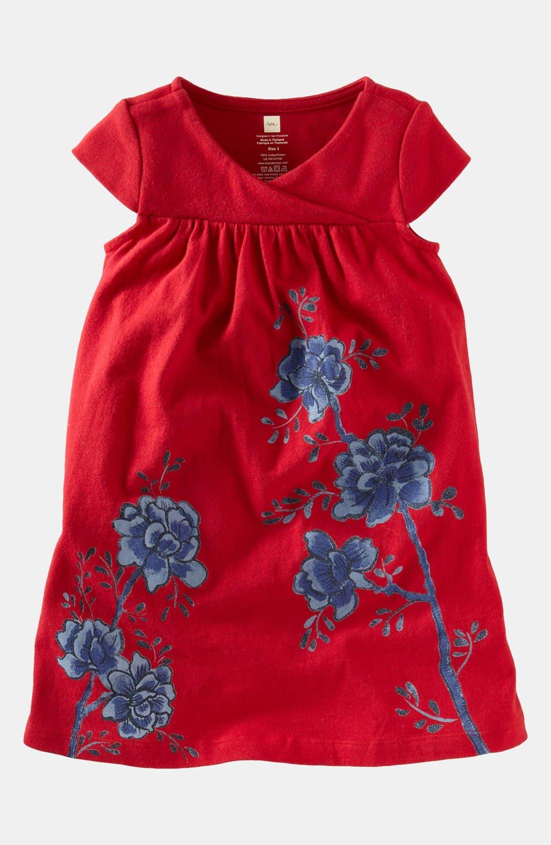 Main Image - Tea Collection 'Painted Pottery' Dress (Toddler Girls, Little Girls & Big Girls)