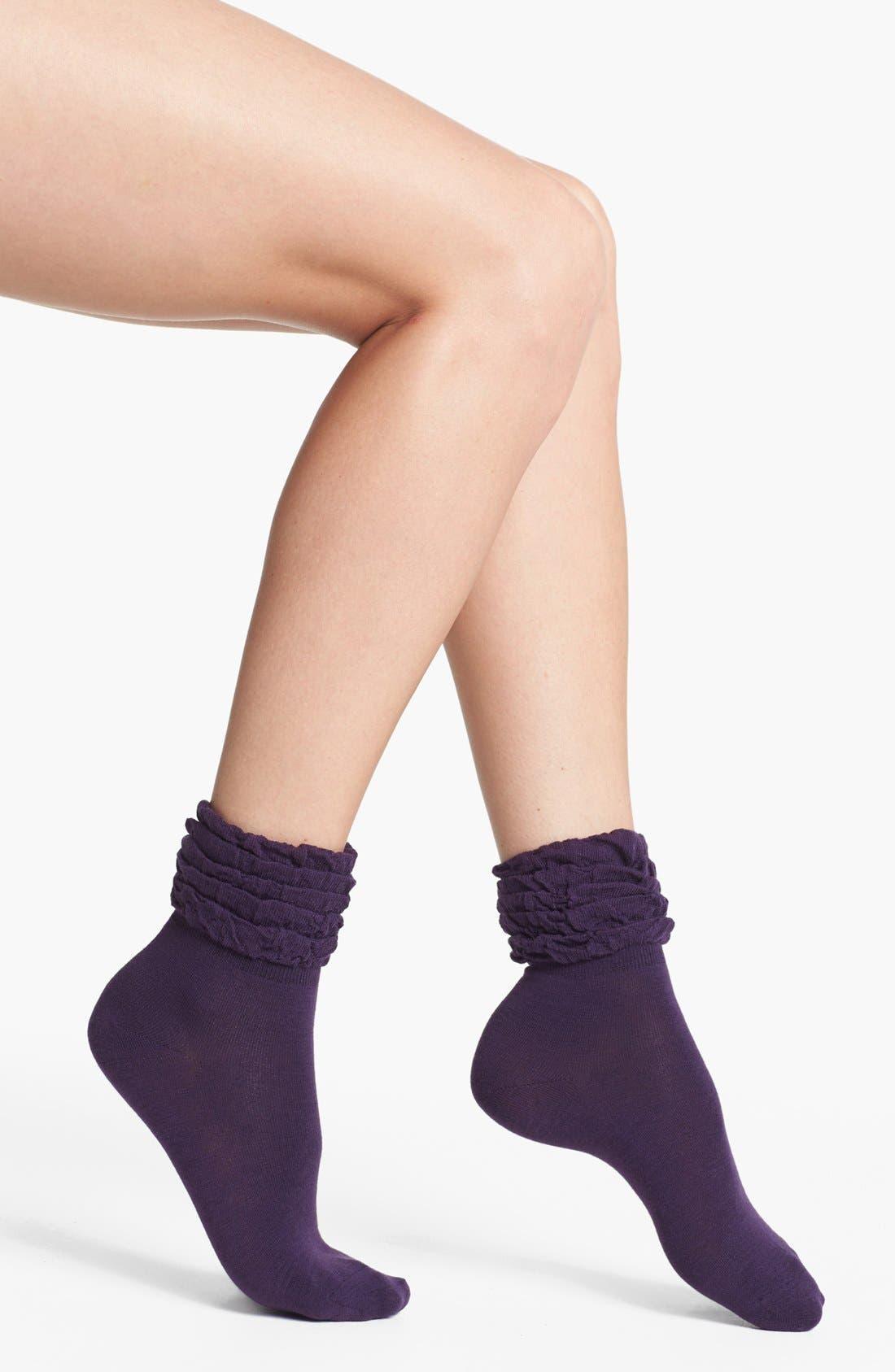 Alternate Image 2  - kensie Multi Ruffle Socks