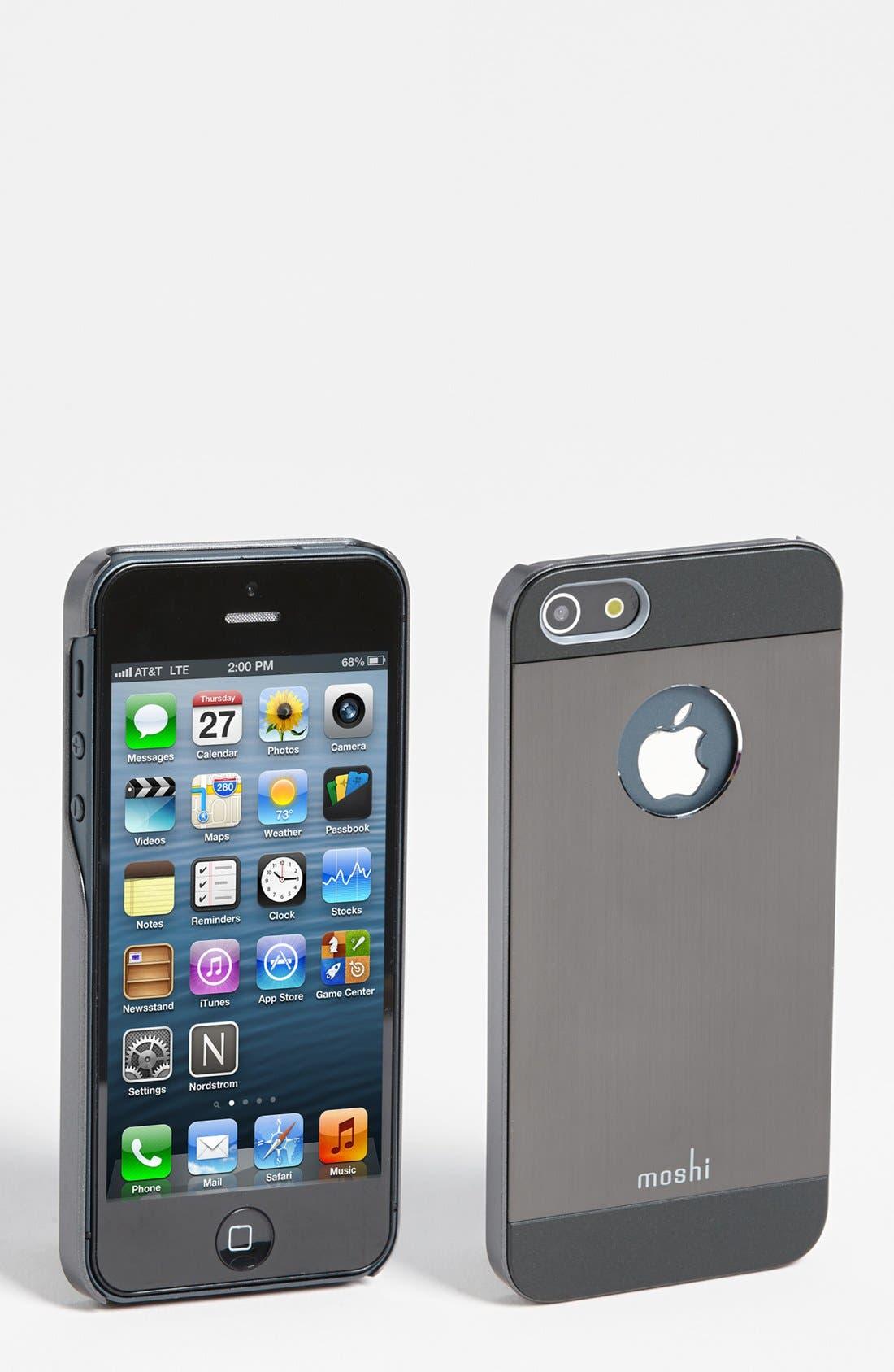 Alternate Image 1 Selected - Moshi 'iGlaze Armour' iPhone 5, 5s & SE Case