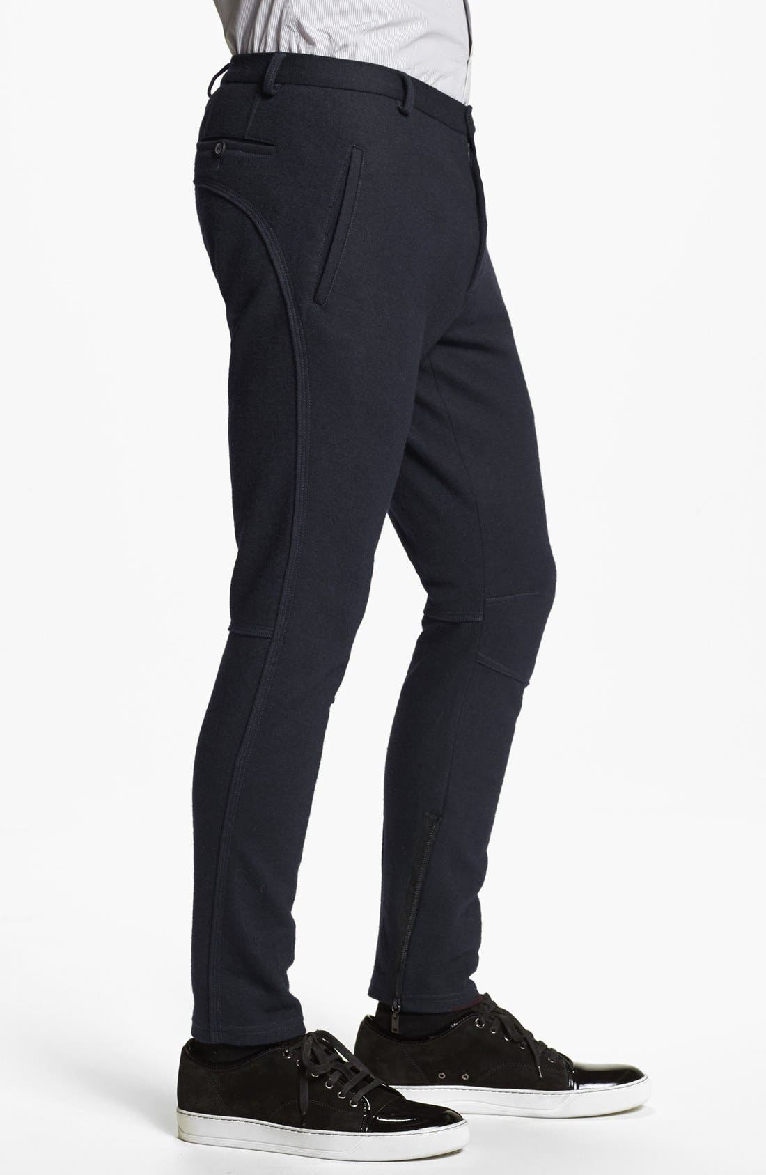 Alternate Image 3  - Lanvin Slim Fit Stretch Pants