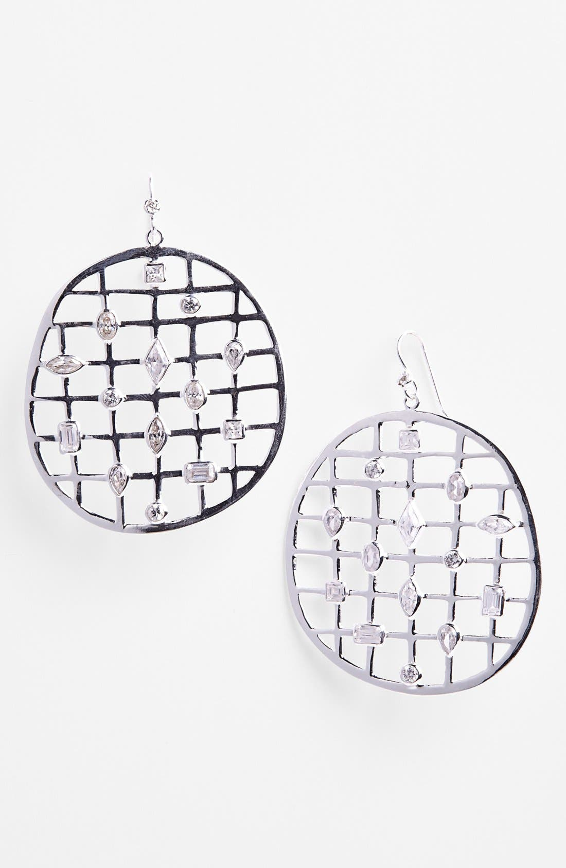 Alternate Image 1 Selected - Mellinda Maria 'Cage' Open Drop Earrings (Online Only)