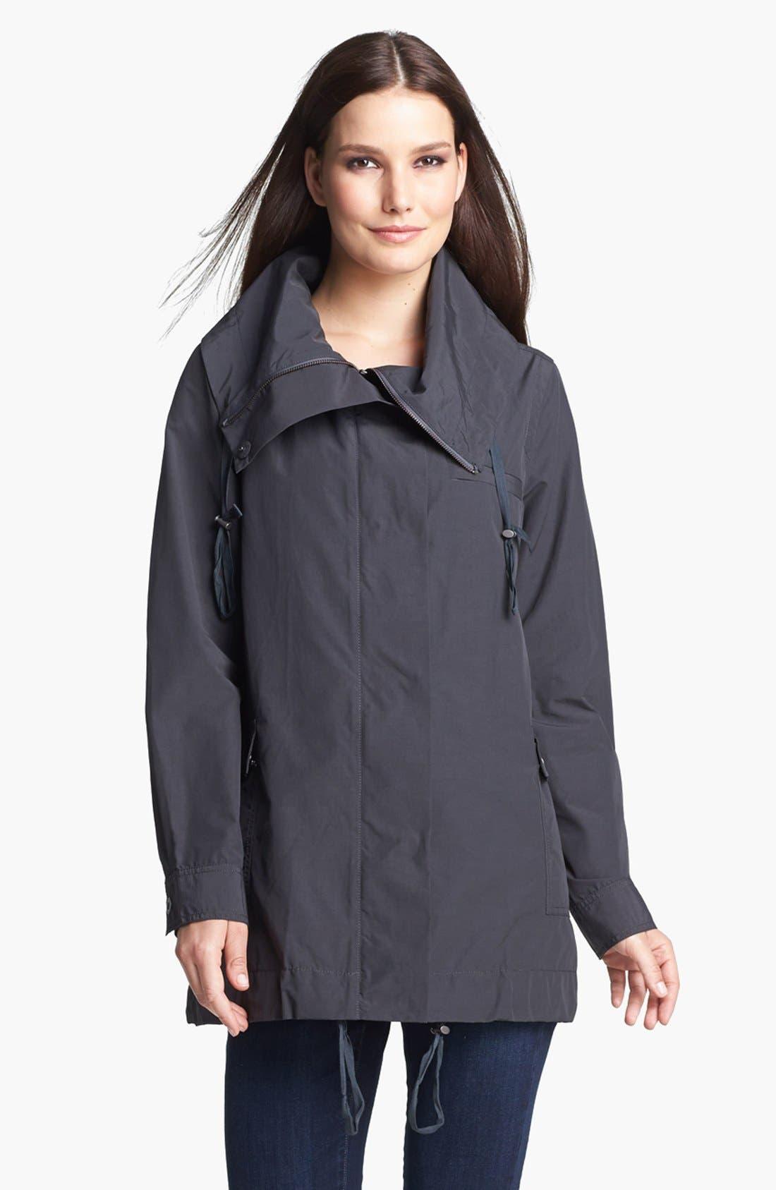 Main Image - Eileen Fisher Oversized Collar Jacket