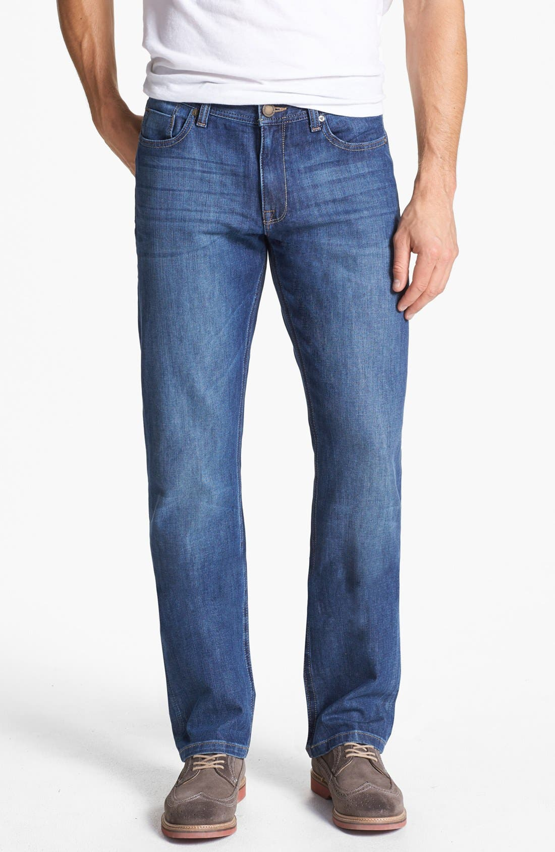 Alternate Image 1 Selected - DL1961 'Vince' Straight Leg Jeans (Charger)