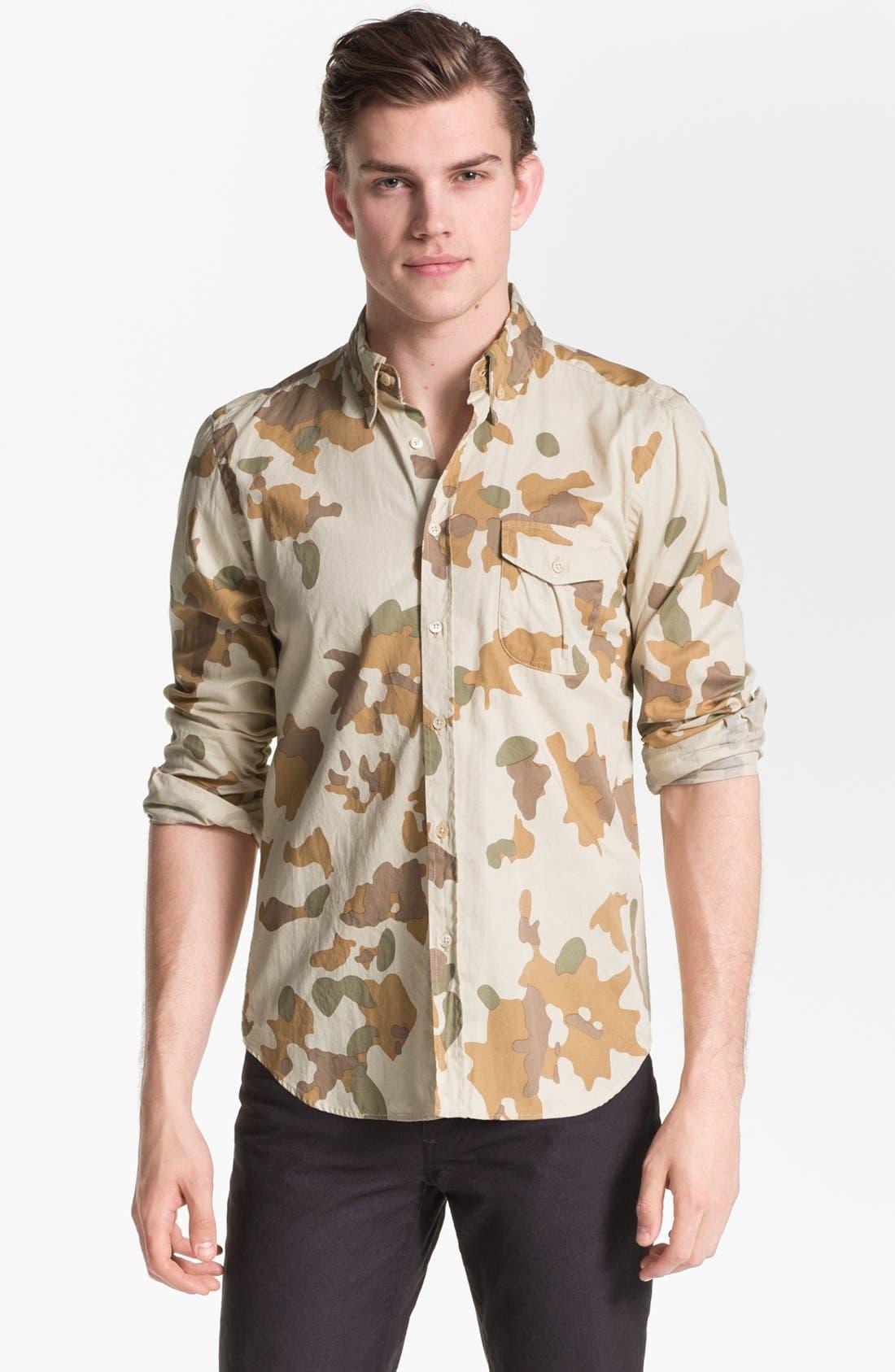 Main Image - Steven Alan 'Collegiate' Sport Shirt