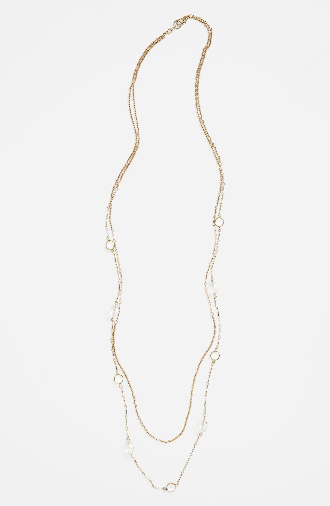 Main Image - Rachel Layering Chain Necklace