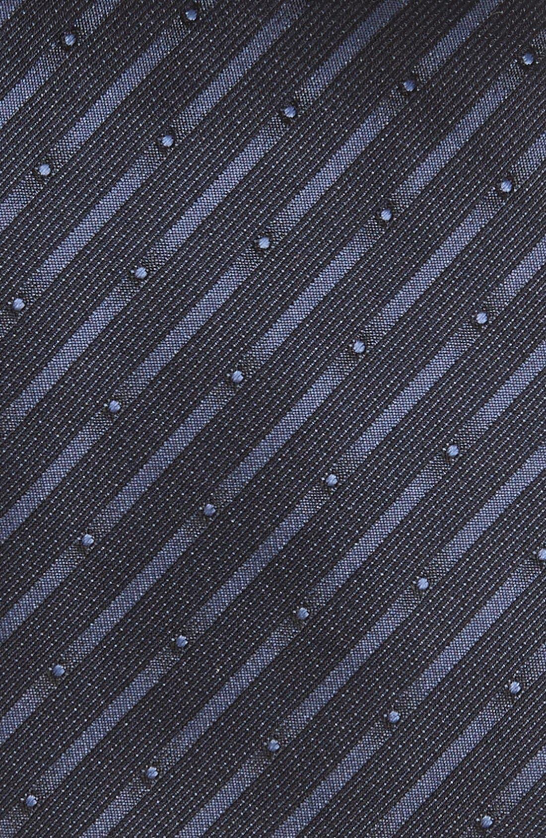 Alternate Image 3  - Armani Collezioni Woven Silk Tie