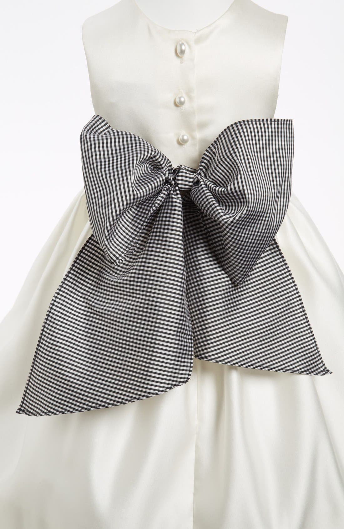 Us Angels Gingham Sash (Toddler Girls)