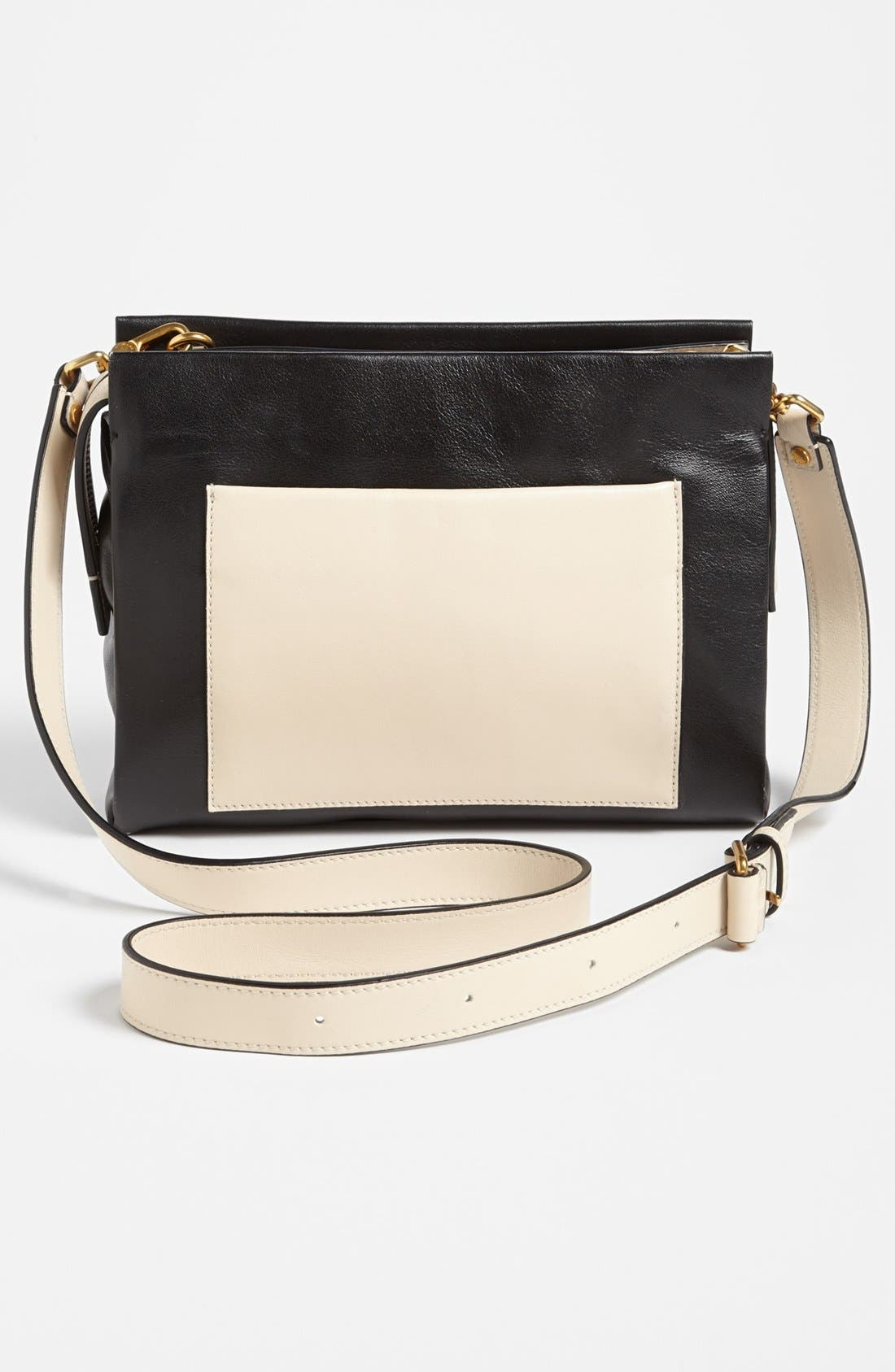 Alternate Image 4  - MARC BY MARC JACOBS 'Fold Them' Leather Crossbody Bag