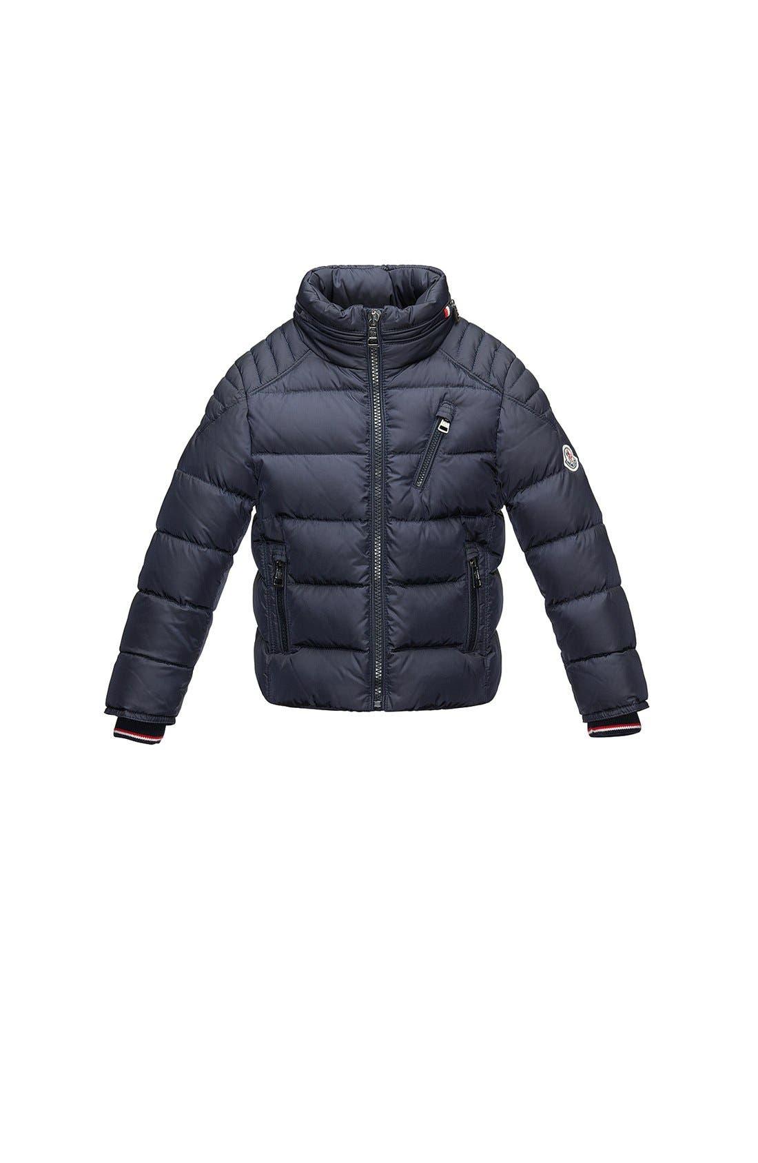 Main Image - Moncler 'Sebastien' Coat (Toddler Boys, Little Boys & Big Boys)