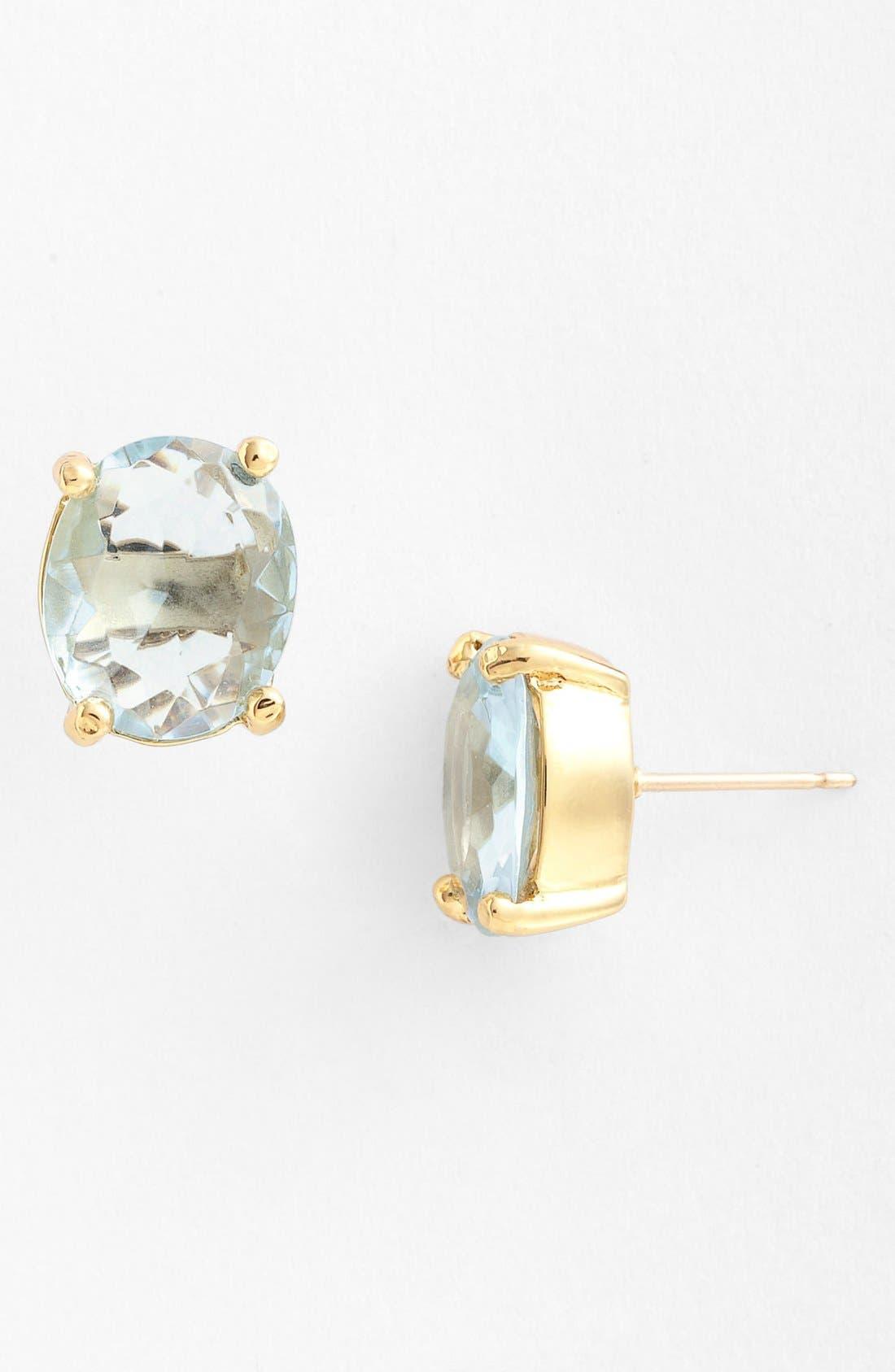 Main Image - kate spade new york oval stud earrings (Nordstrom Exclusive)