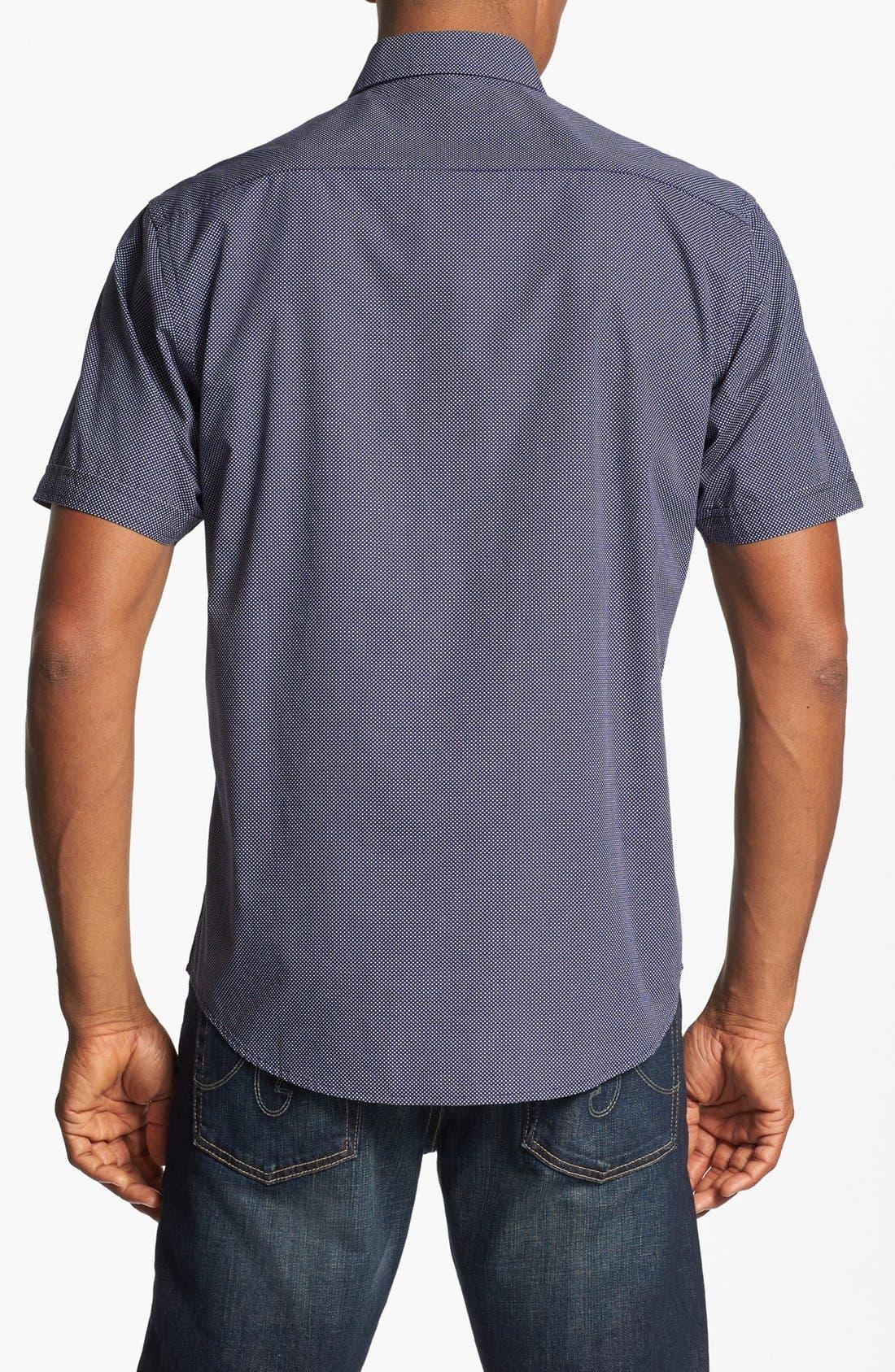 Alternate Image 2  - James Campbell Short Sleeve Sport Shirt