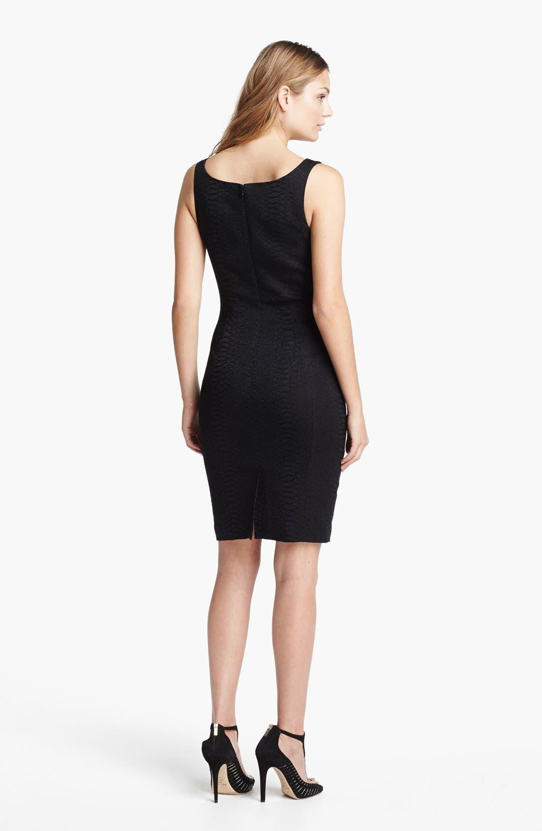 Alternate Image 2  - Jay Godfrey 'Ines' Python Jacquard Dress (Nordstrom Exclusive)