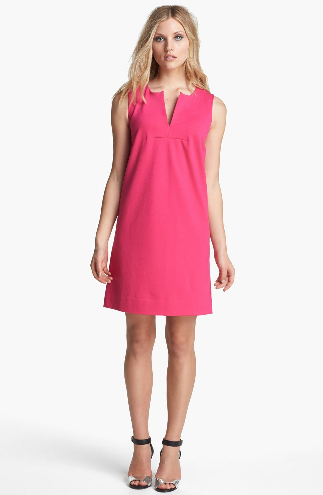 Alternate Image 1 Selected - kate spade new york 'keri' woven shift dress