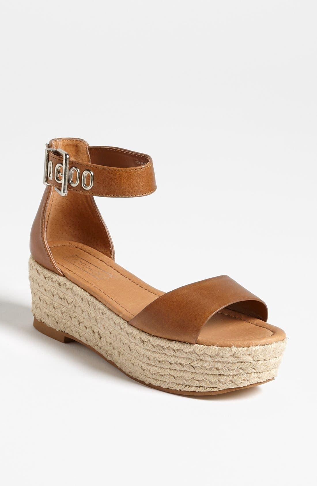 Alternate Image 1 Selected - Topshop 'Woohoo' Sandal